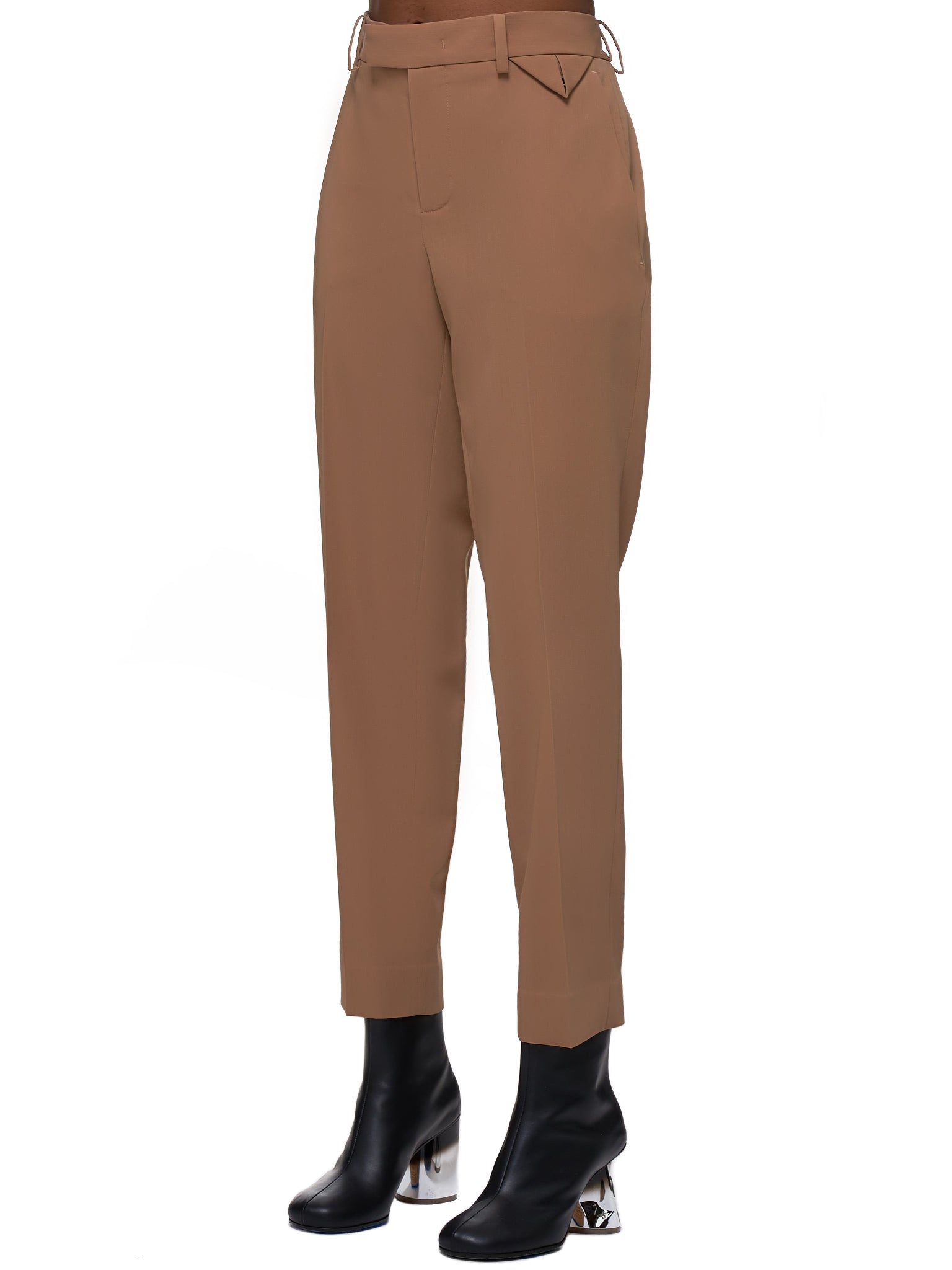 Wool Trousers (585165VA5Q1-CAMEL)