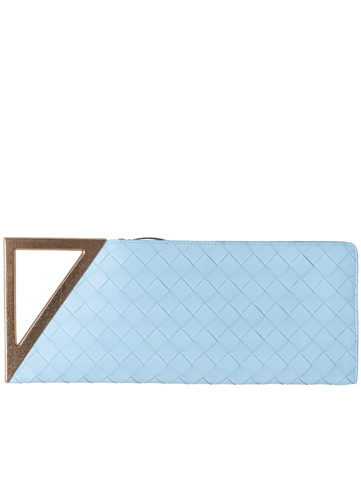 Rim Rectangular Clutch (591664VO0BL-9315-ICE-BLUE)