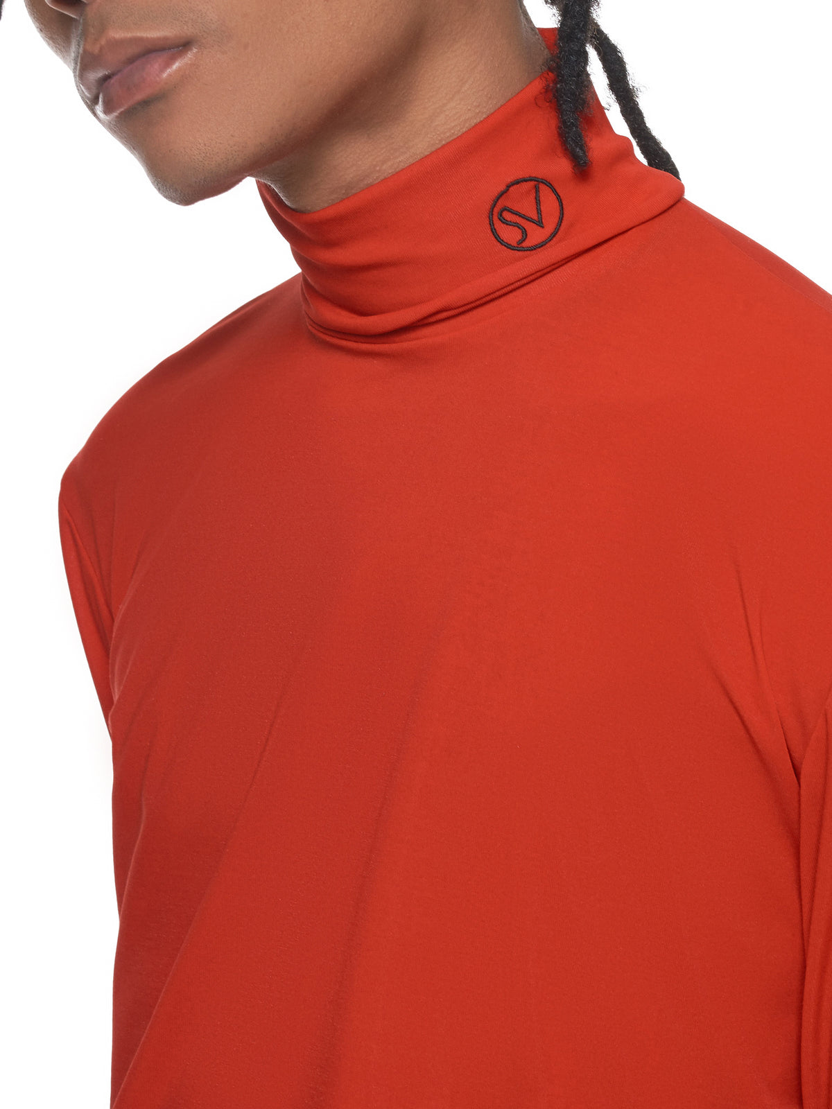 John Lawrence Sullivan Turtleneck Top - Hlorenzo Detail 2