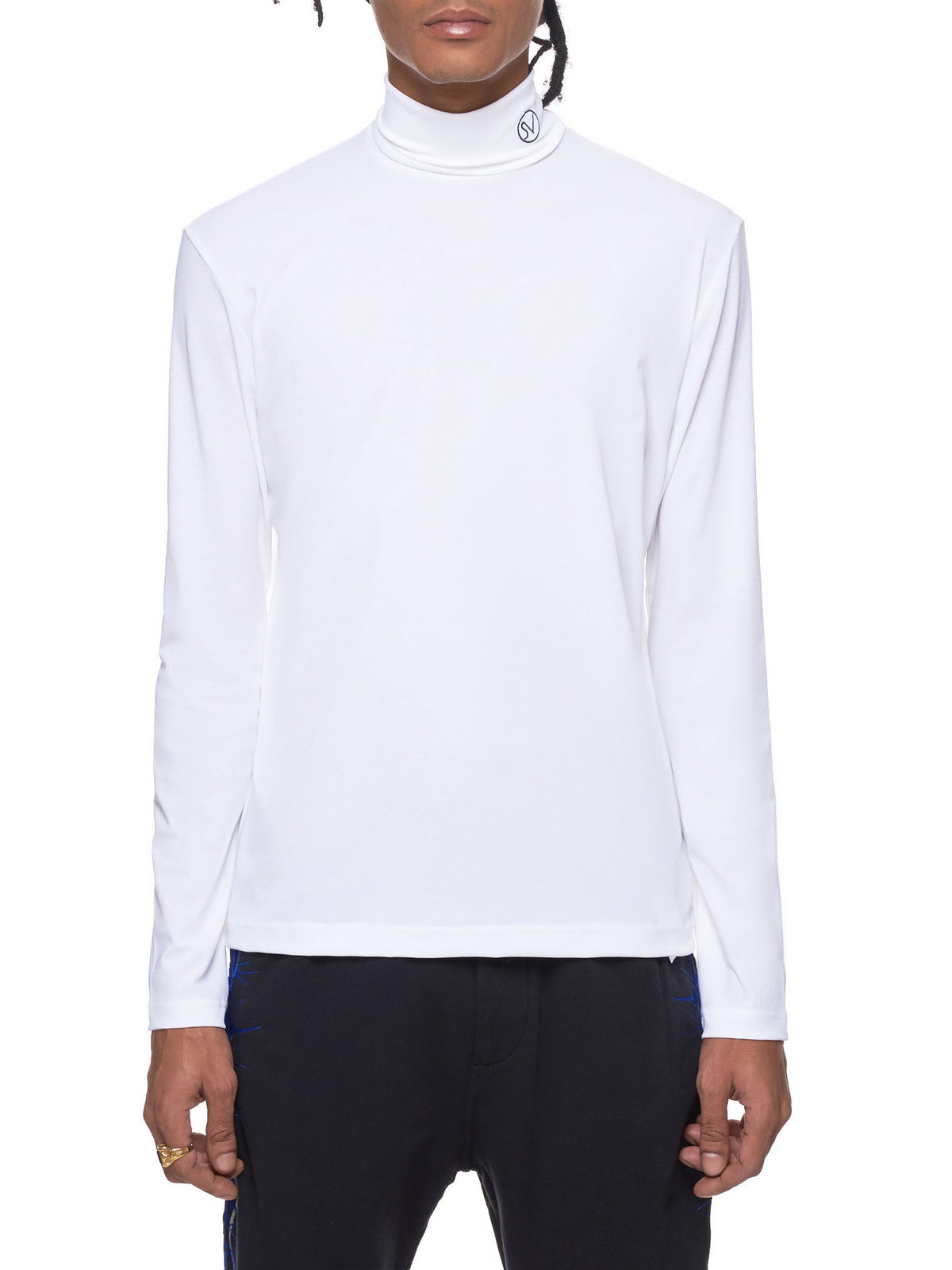 John Lawrence Sullivan Turtleneck Top - Hlorenzo Front
