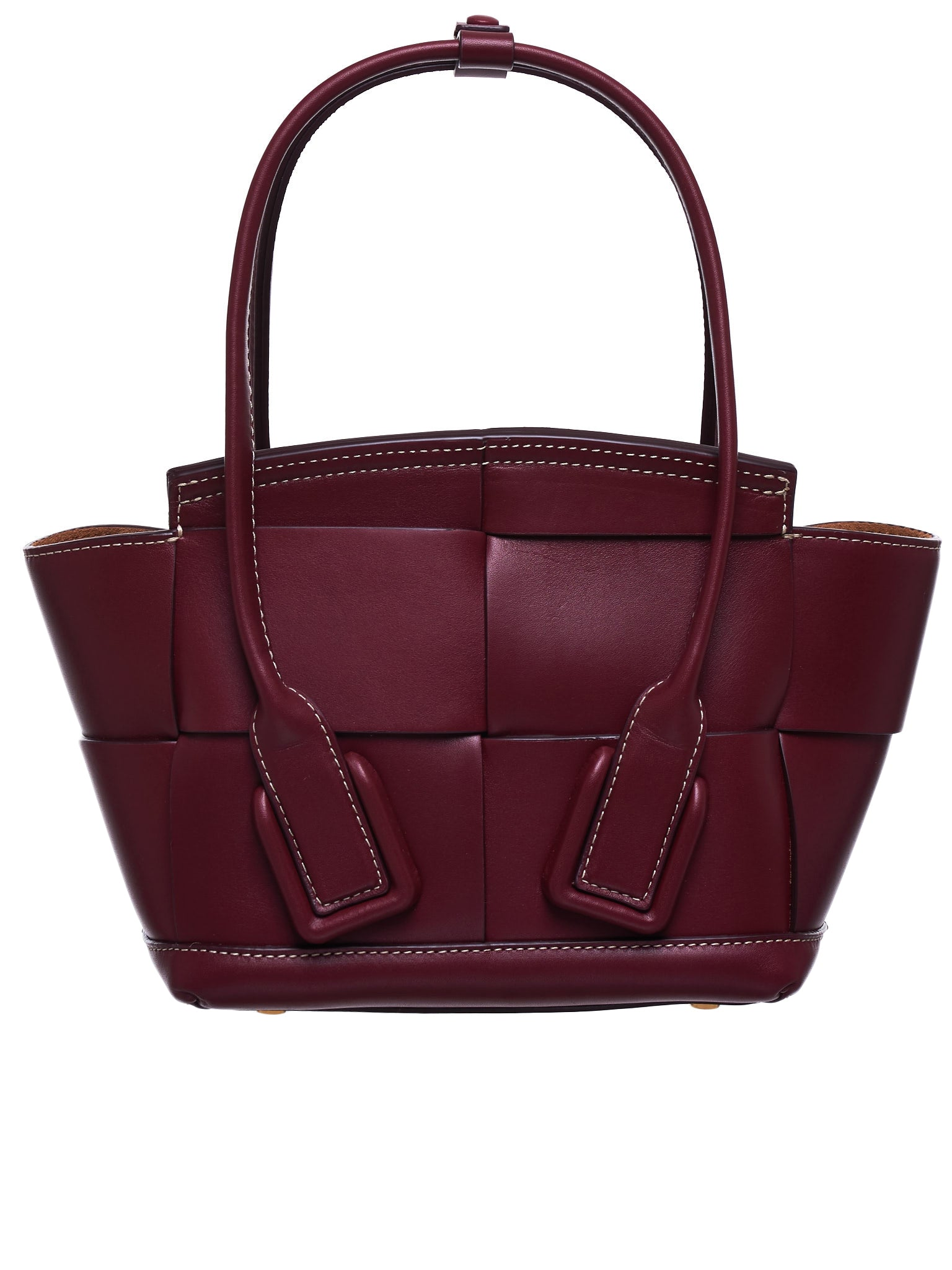 Arco Bag (600606VMAP1-6206-BORDEAUX-GOLD)