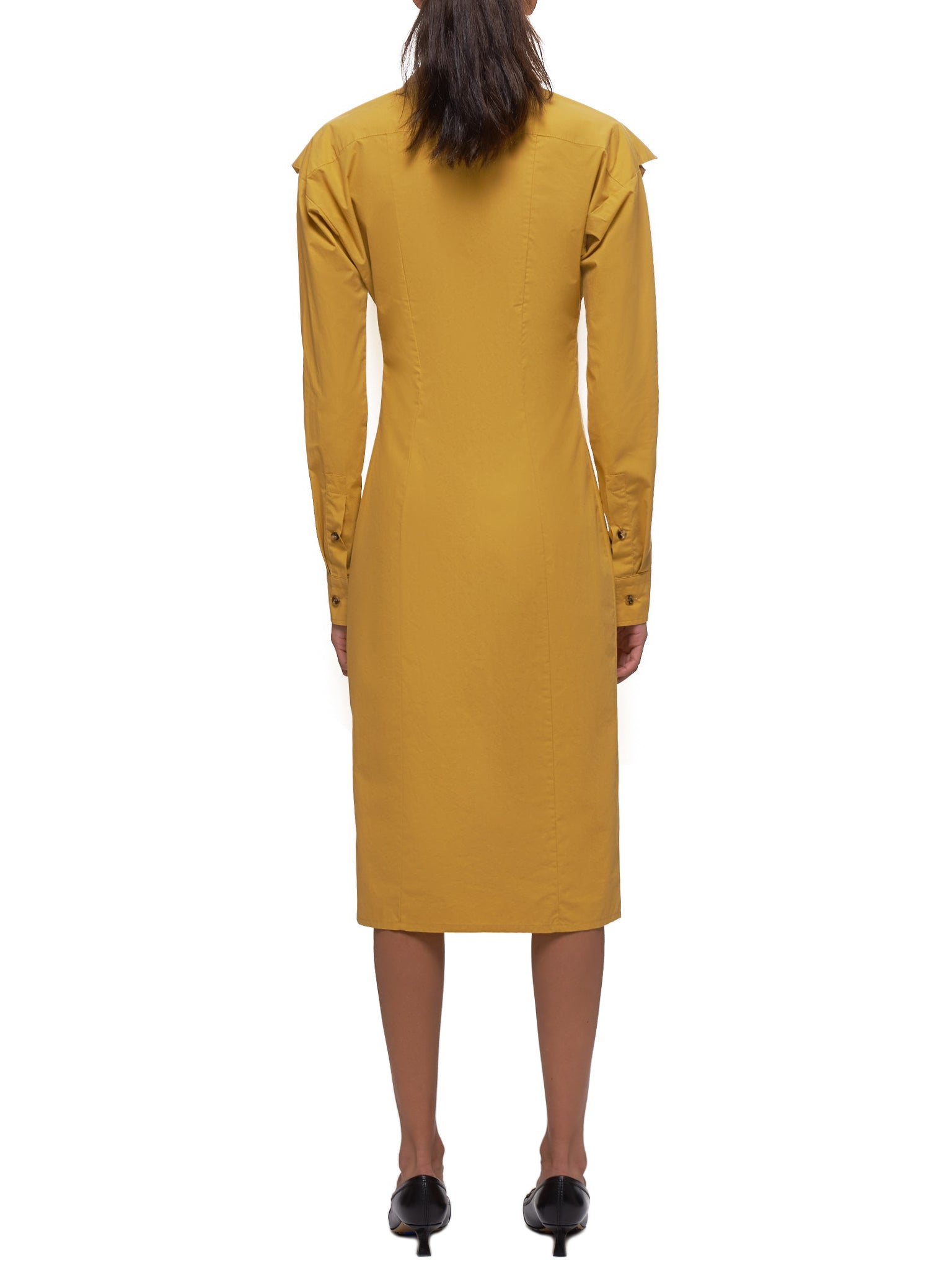 Popeline Dress (601033VKH50-7101-YELLOW)