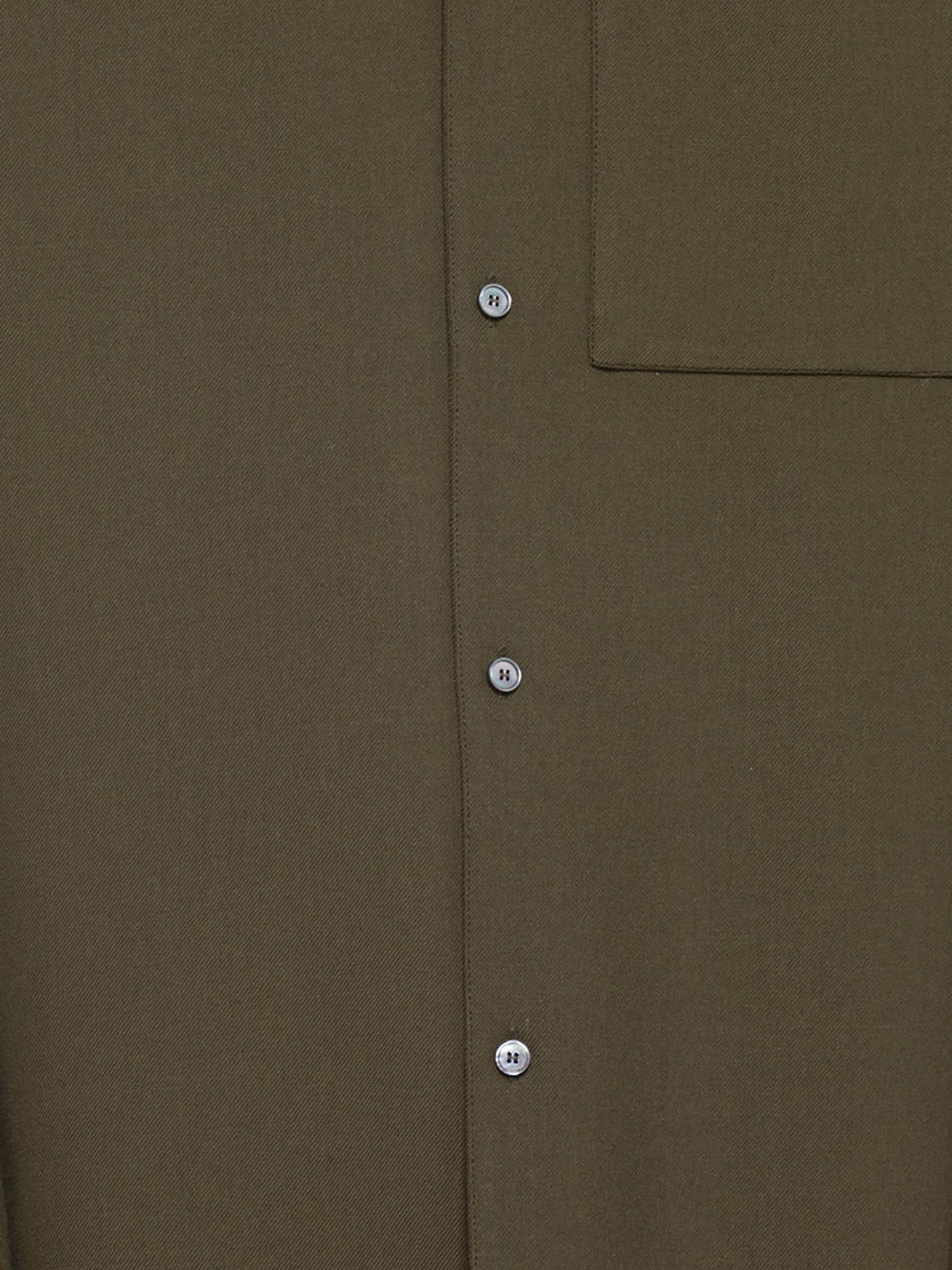 Button-Up Jersey Shirt (603225-OLIVE)