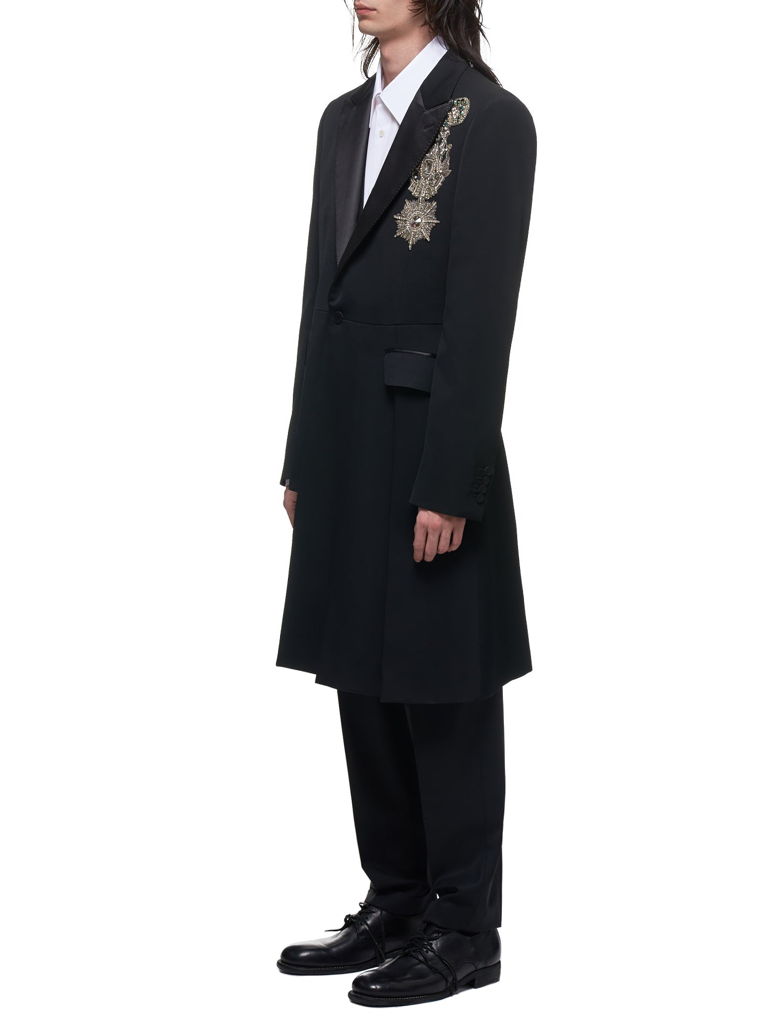 Alexander McQueen Suit Coat - Hlorenzo Side