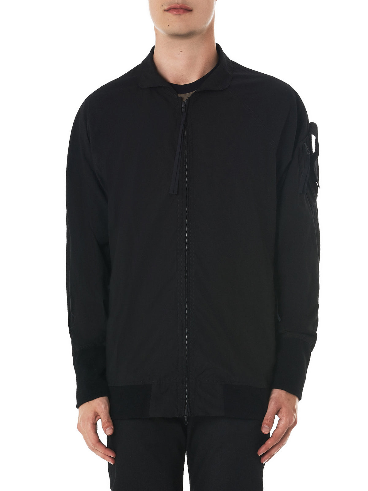 Julius Ribbed Jacket - Hlorenzo Front