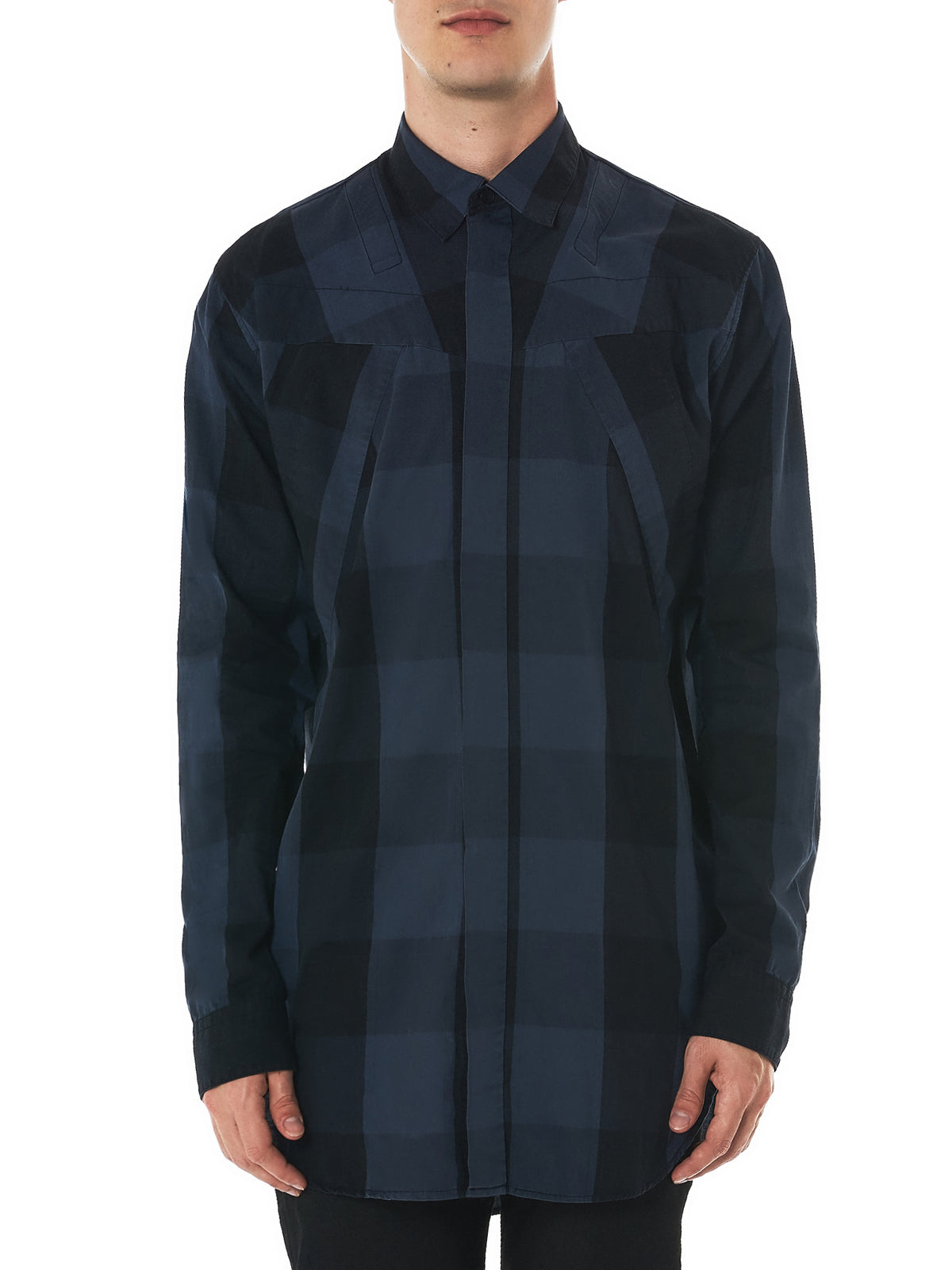 Julius Plaid Shirt - Hlorenzo Front
