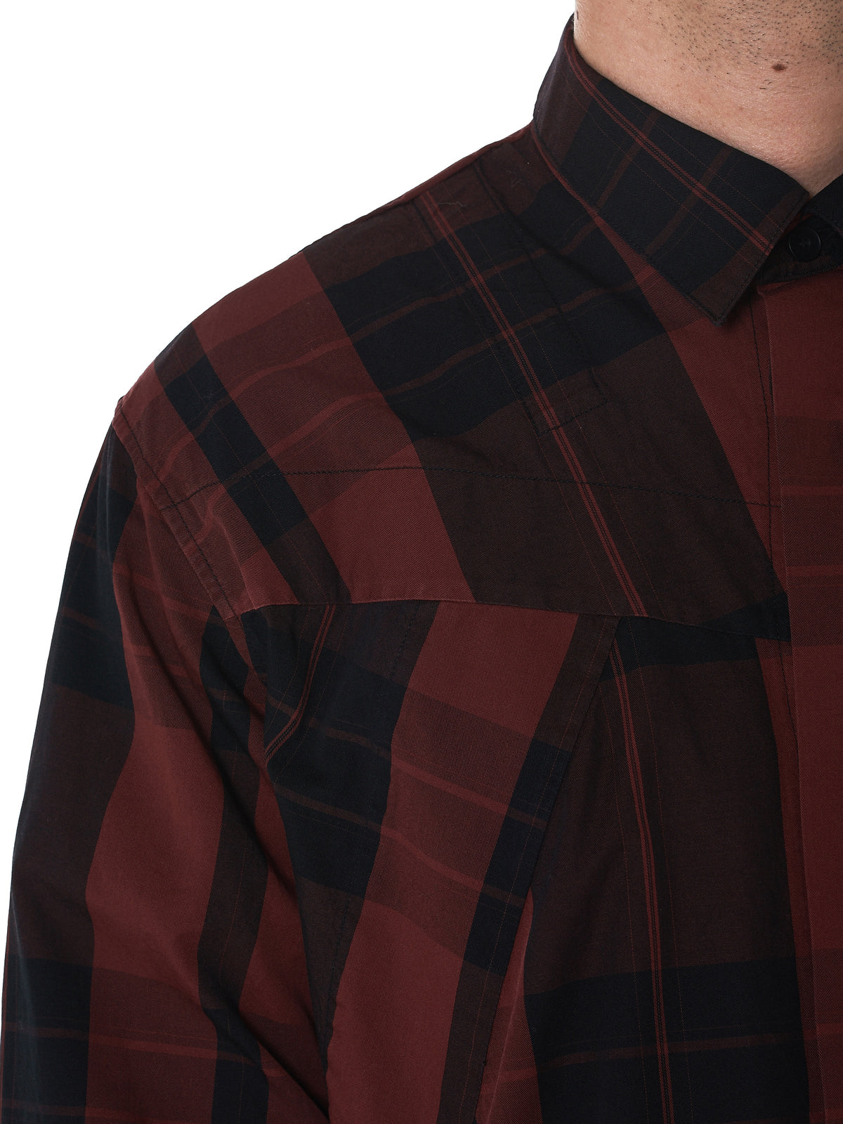 Julius Plaid Shirt - Hlorenzo Detail 2