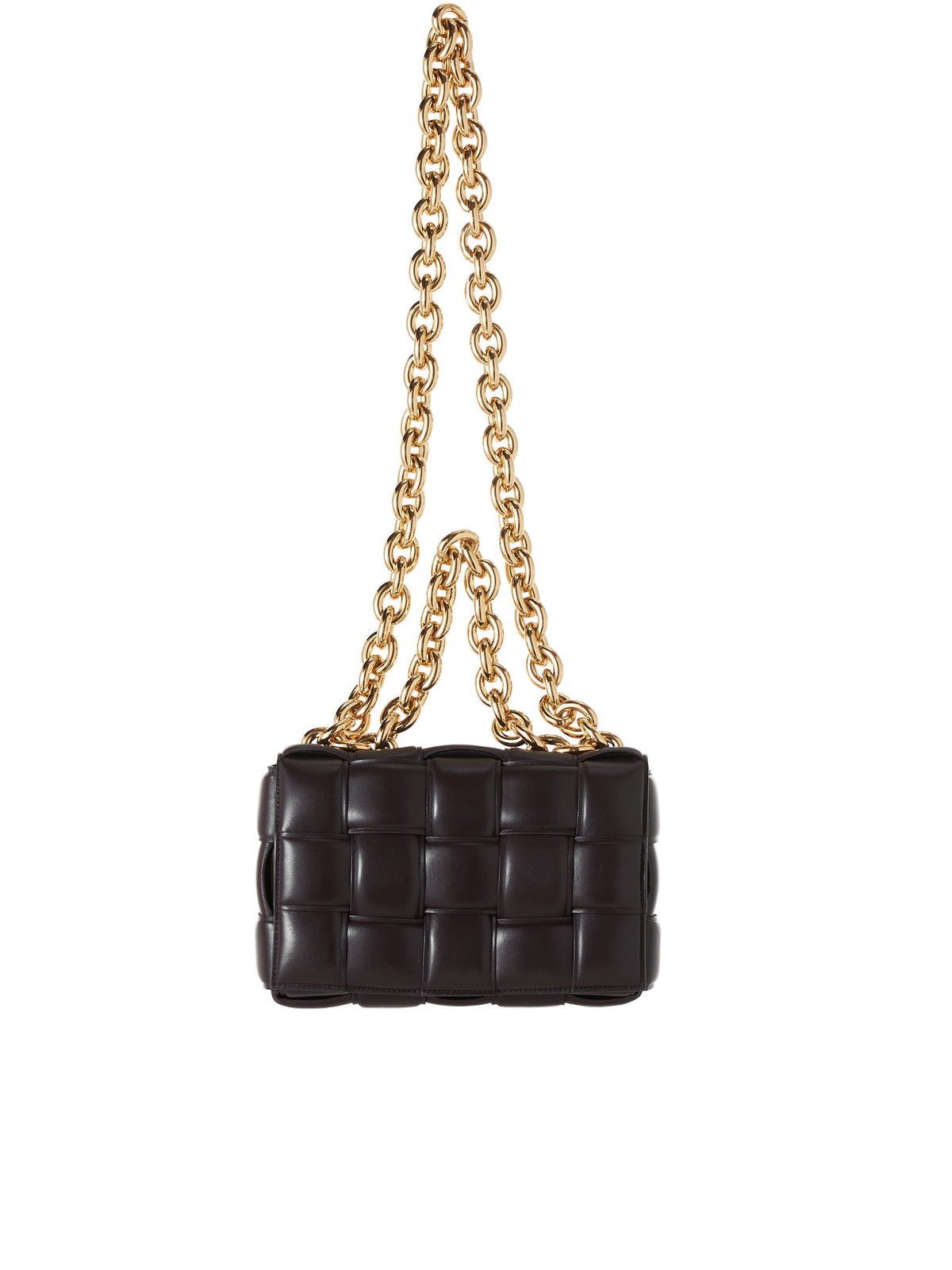 Chain Cassette Bag (631421VBWZ0-2132-CHOCOLATE)
