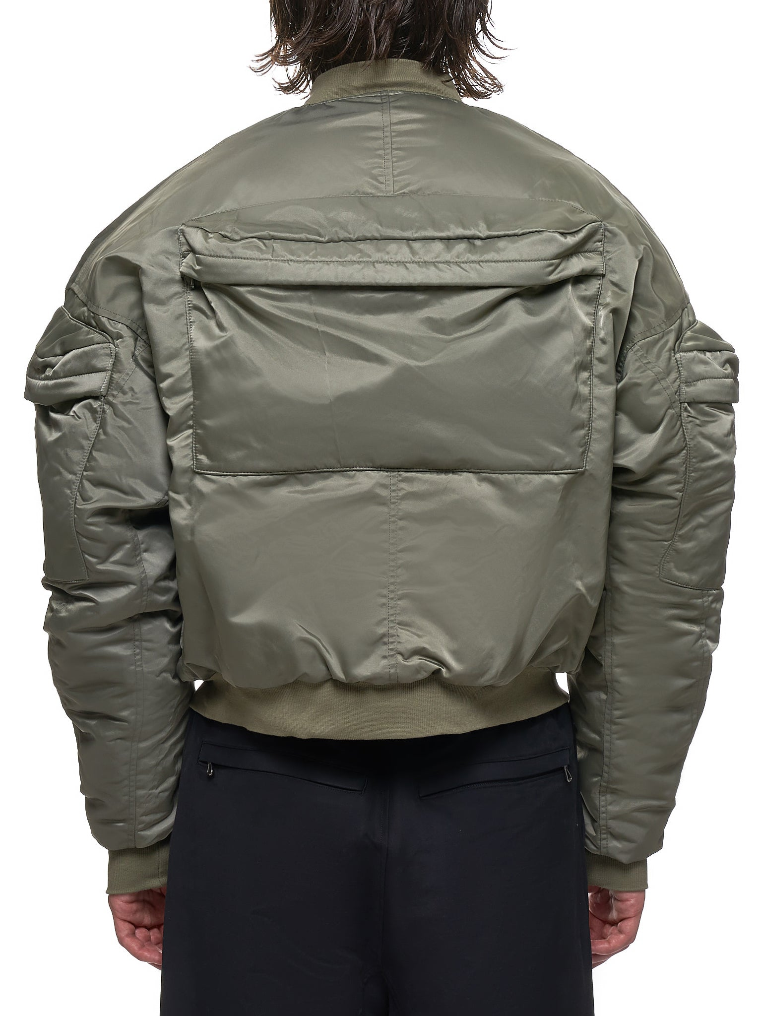 Padded Jacket (677BLM7-ARMY-GREEN)