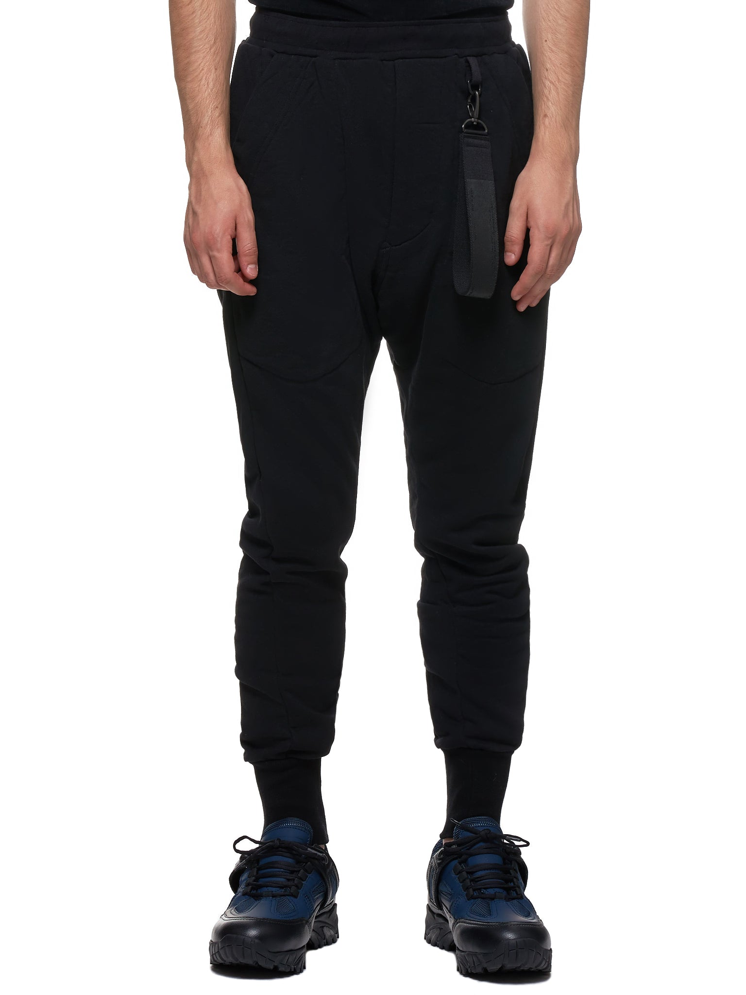 Elongated Trousers (677PAM20-S-BLACK)