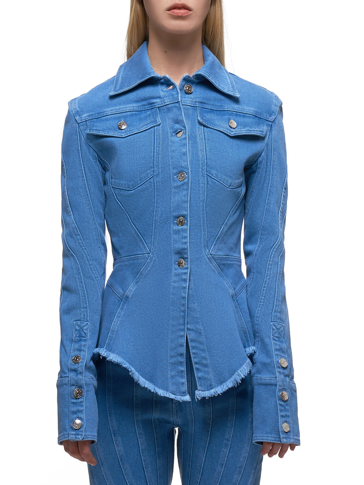 Denim Shirt (6VE0300242-6046-BLUE)