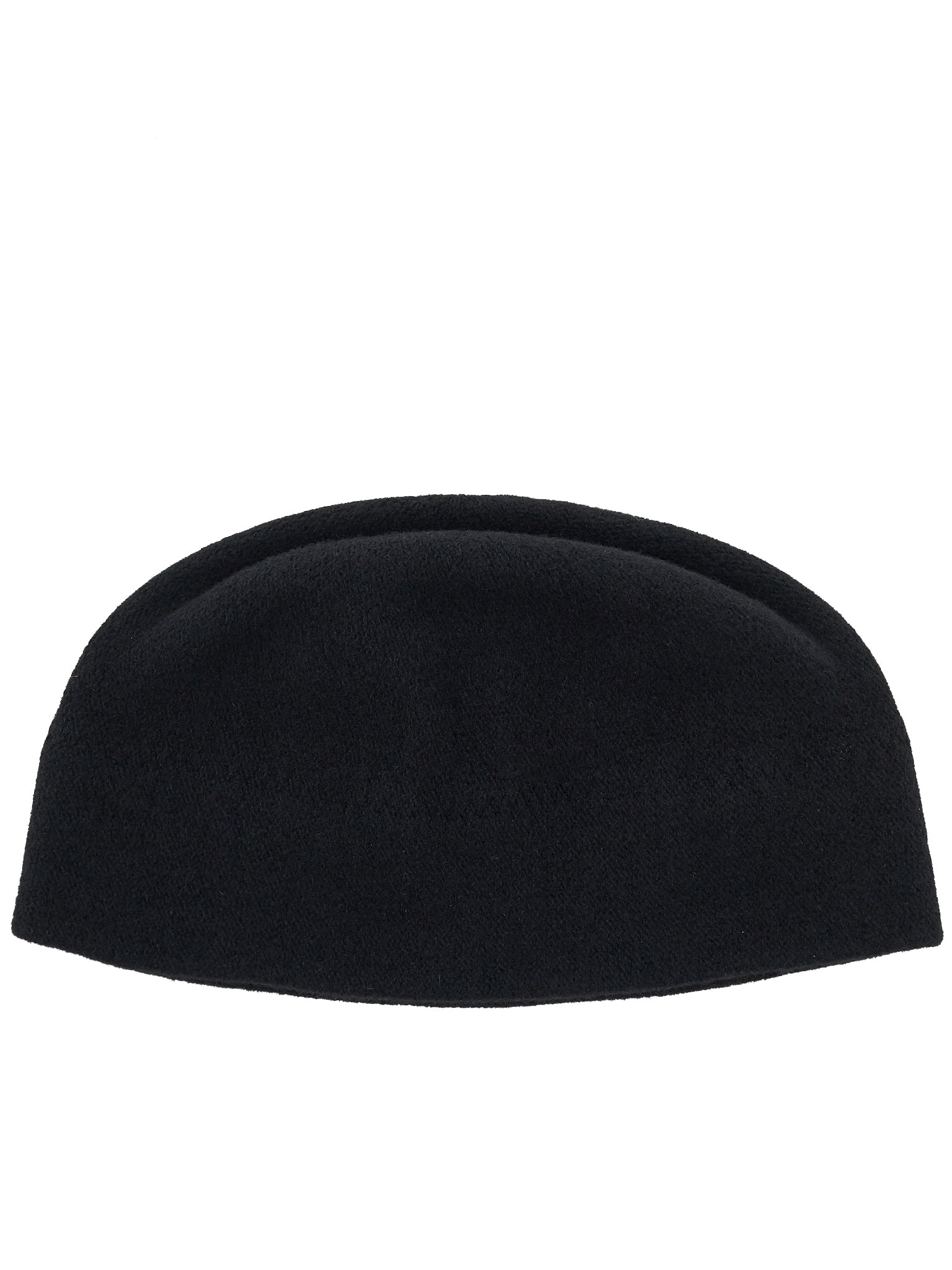 'ZZ' Brushed Wool Beanie (#2-7-ZZ-BLACK)