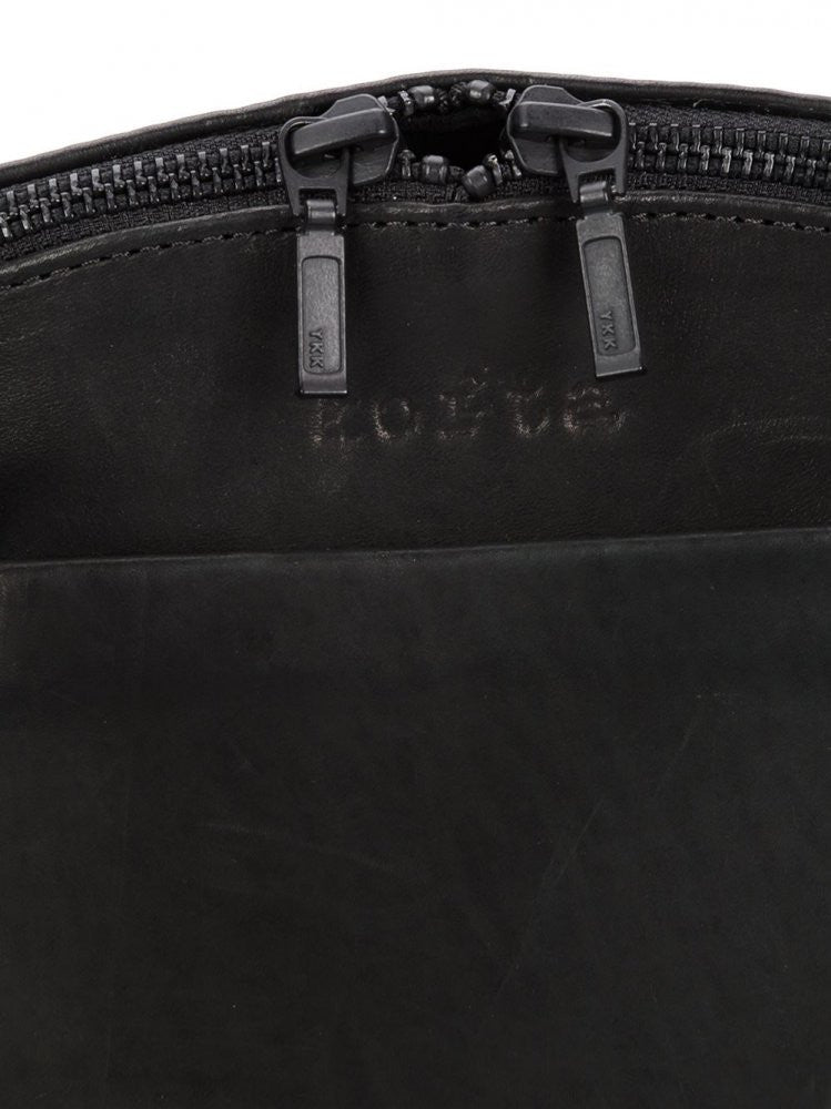 Leather Backpack '8' (BACKPACK 8 BLACK) - H. Lorenzo
