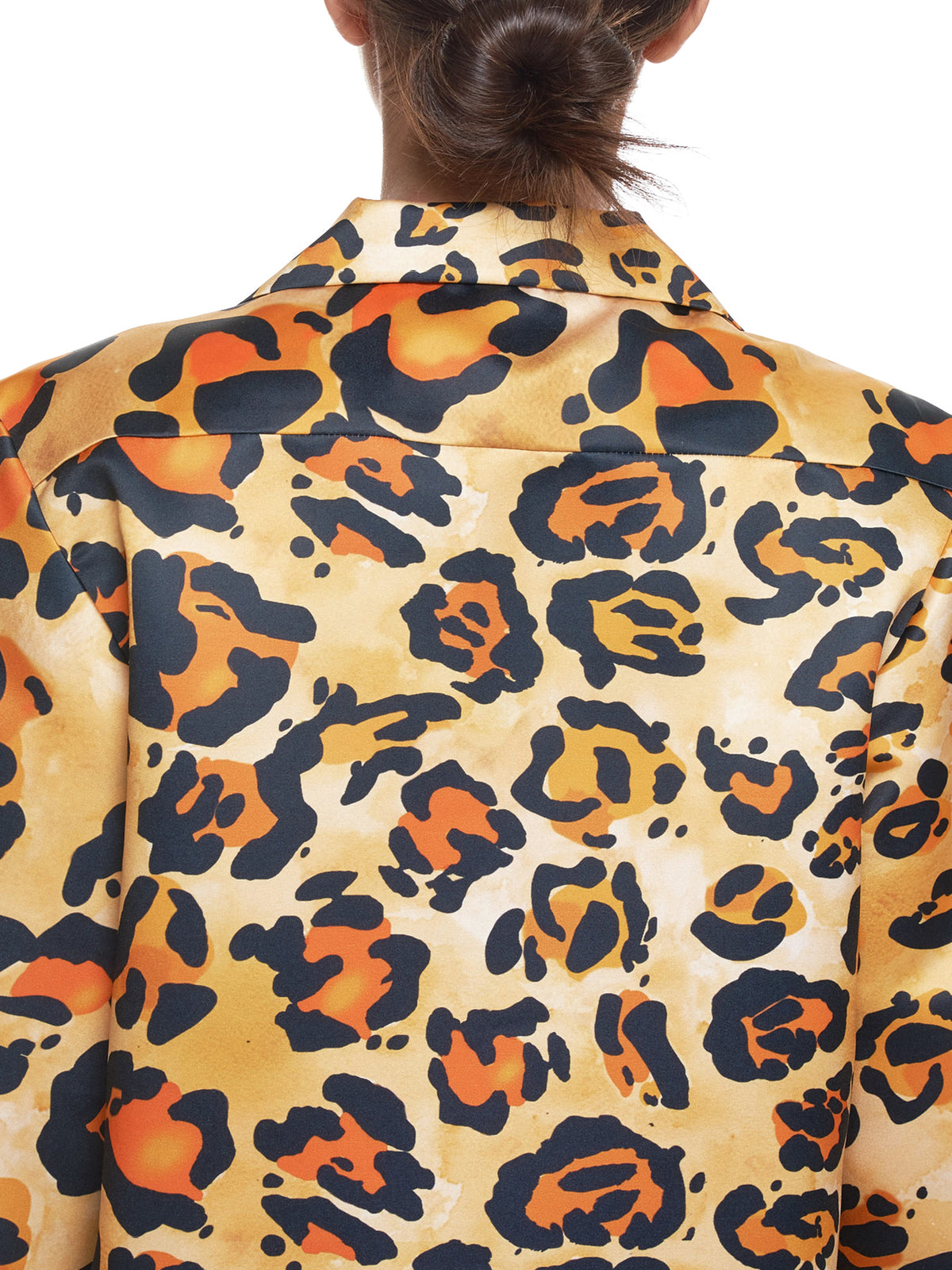 Richard Quinn Leopard Shirt - Hlorenzo Detail 2