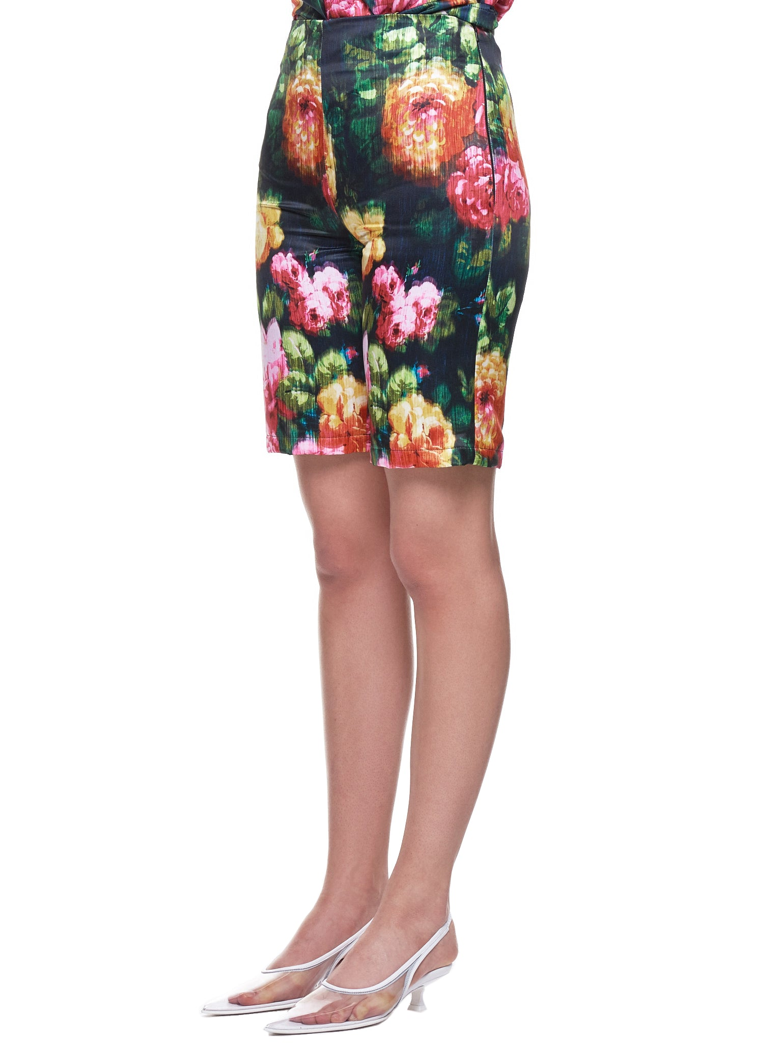 Richard Quinn Floral Short - Hlorenzo Side