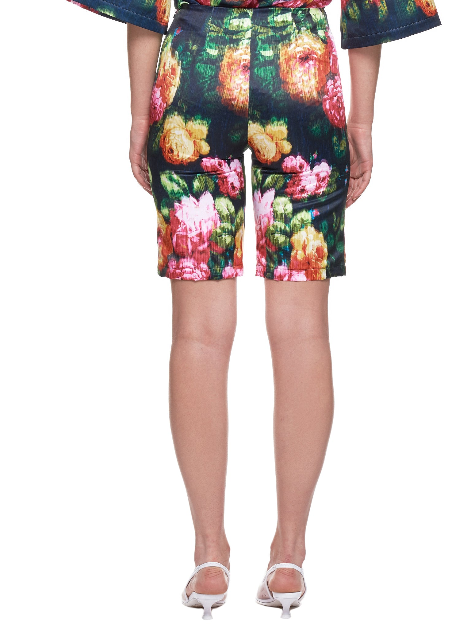 Richard Quinn Floral Short - Hlorenzo Back