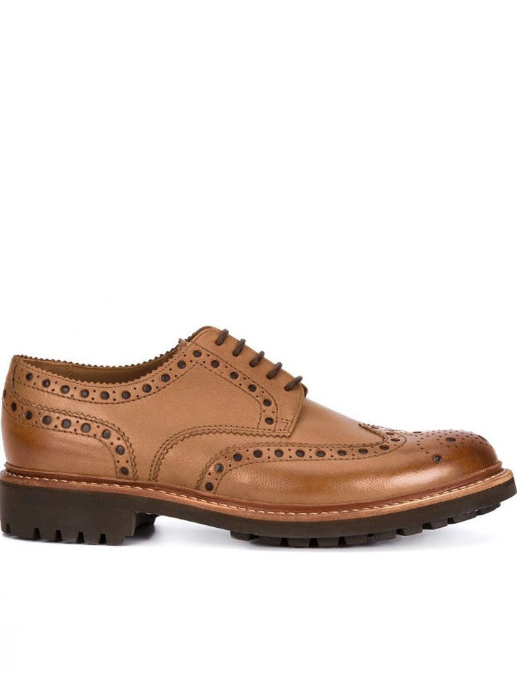 Leather Brouge (5067/451C G  ARCHIE TAN)