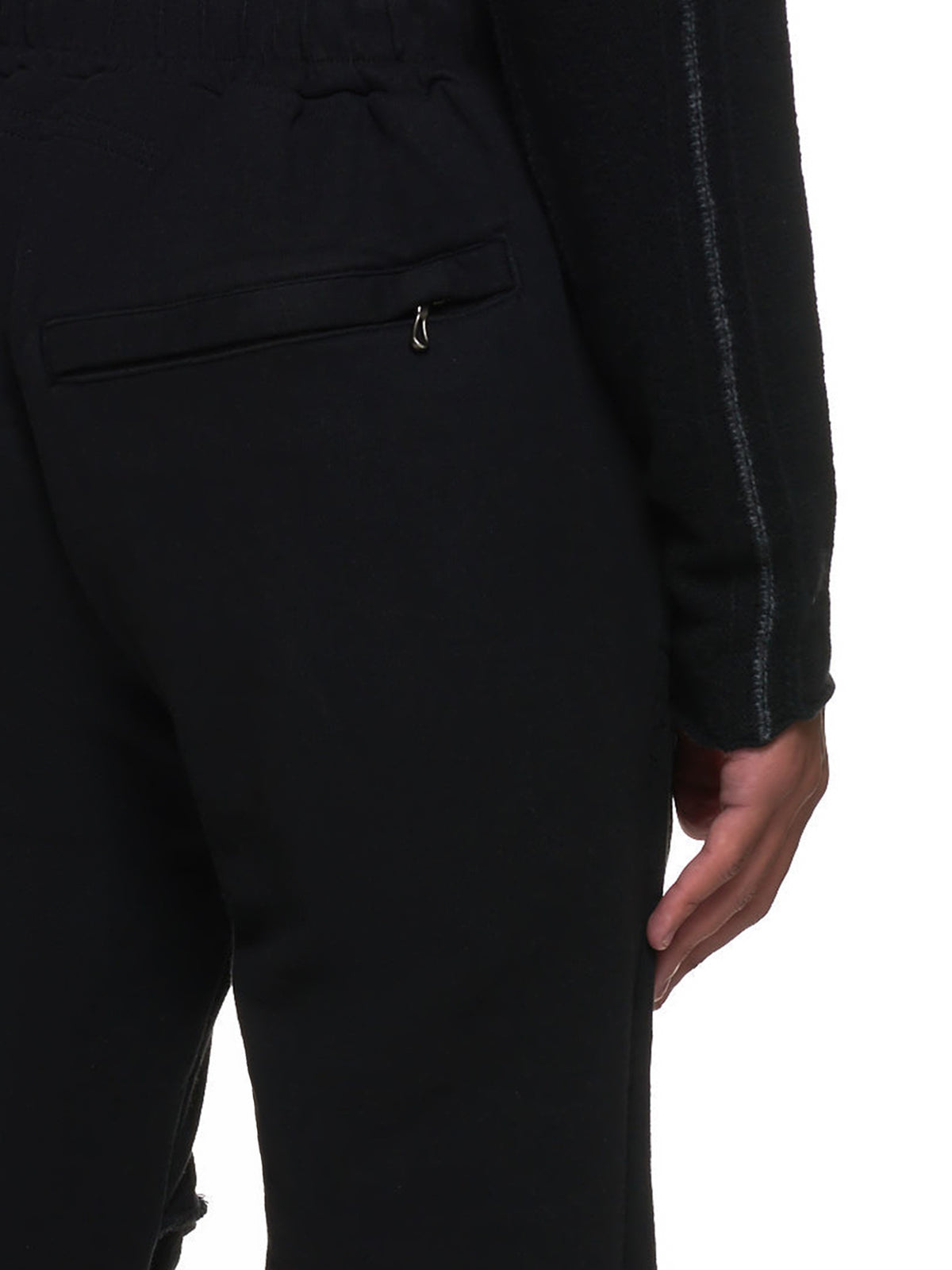 Stretch Joggers (717PAM18-BLACK)