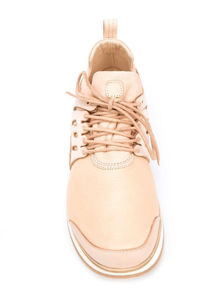 'MIP-12' Natural Leather Trainer (MIP-12 NATURAL) - H. Lorenzo