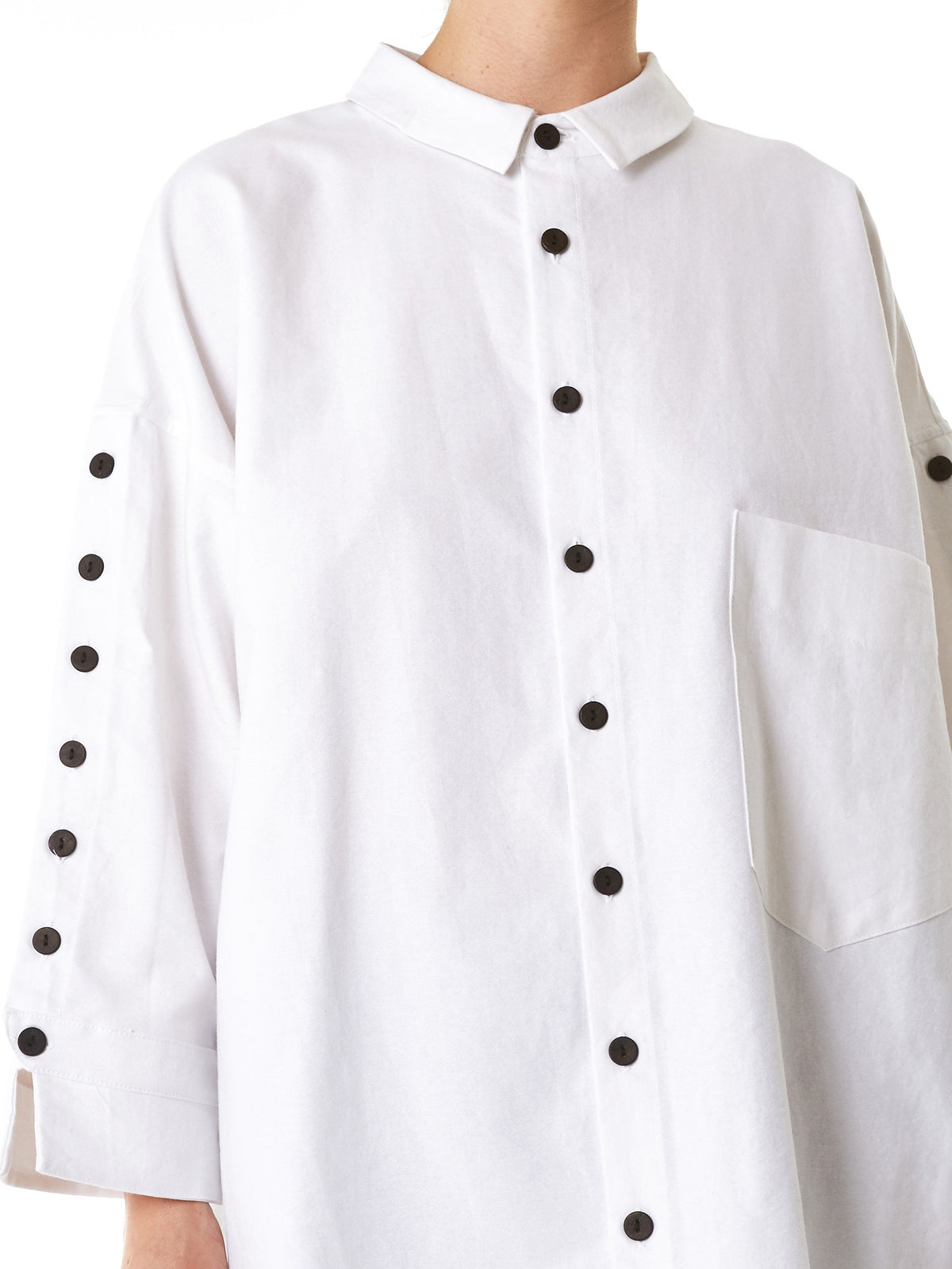 Deconstructed Button-Down Shirt (782-BUTTON-UP-WHITE-OXFORD) - H. Lorenzo
