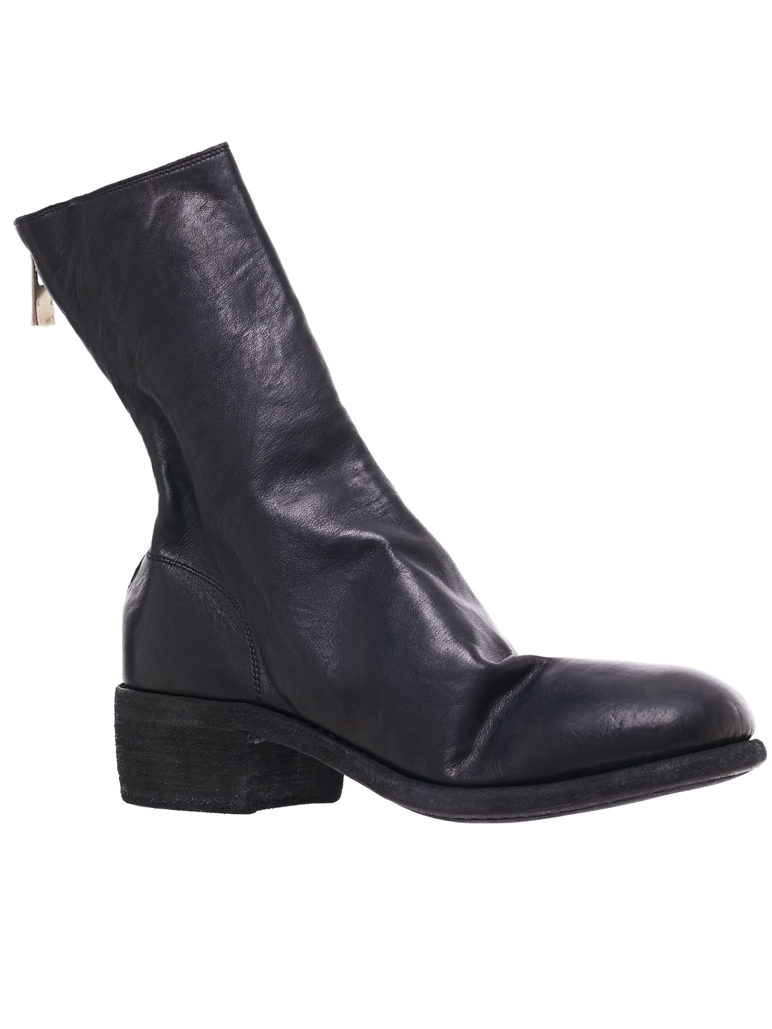 788 Soft Horse Leather Boots (788-SOFT-HORSE-FG-BLACK)