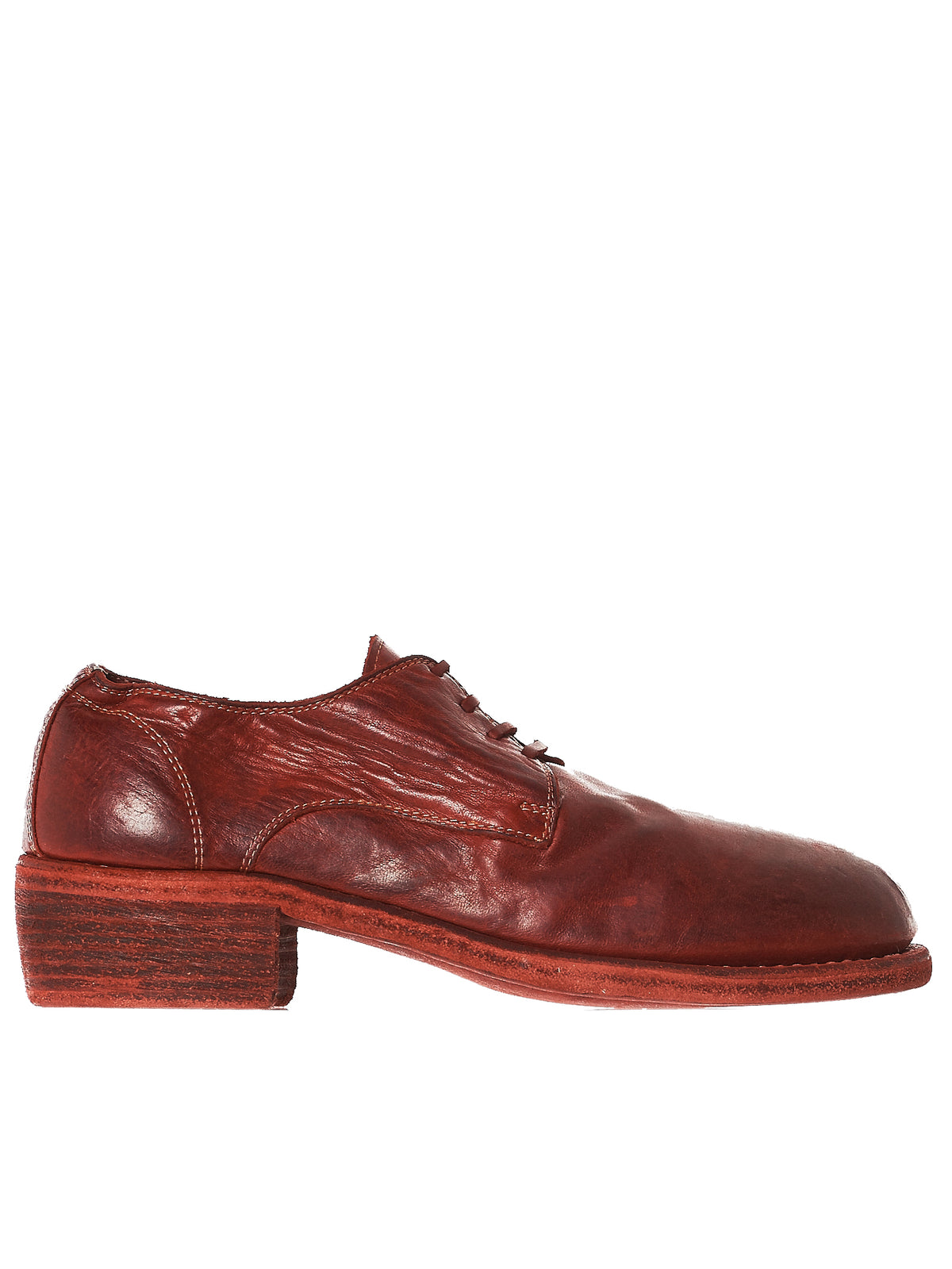 Angled Derby Shoes (792-SOFT-HORSE-FG-1006T)