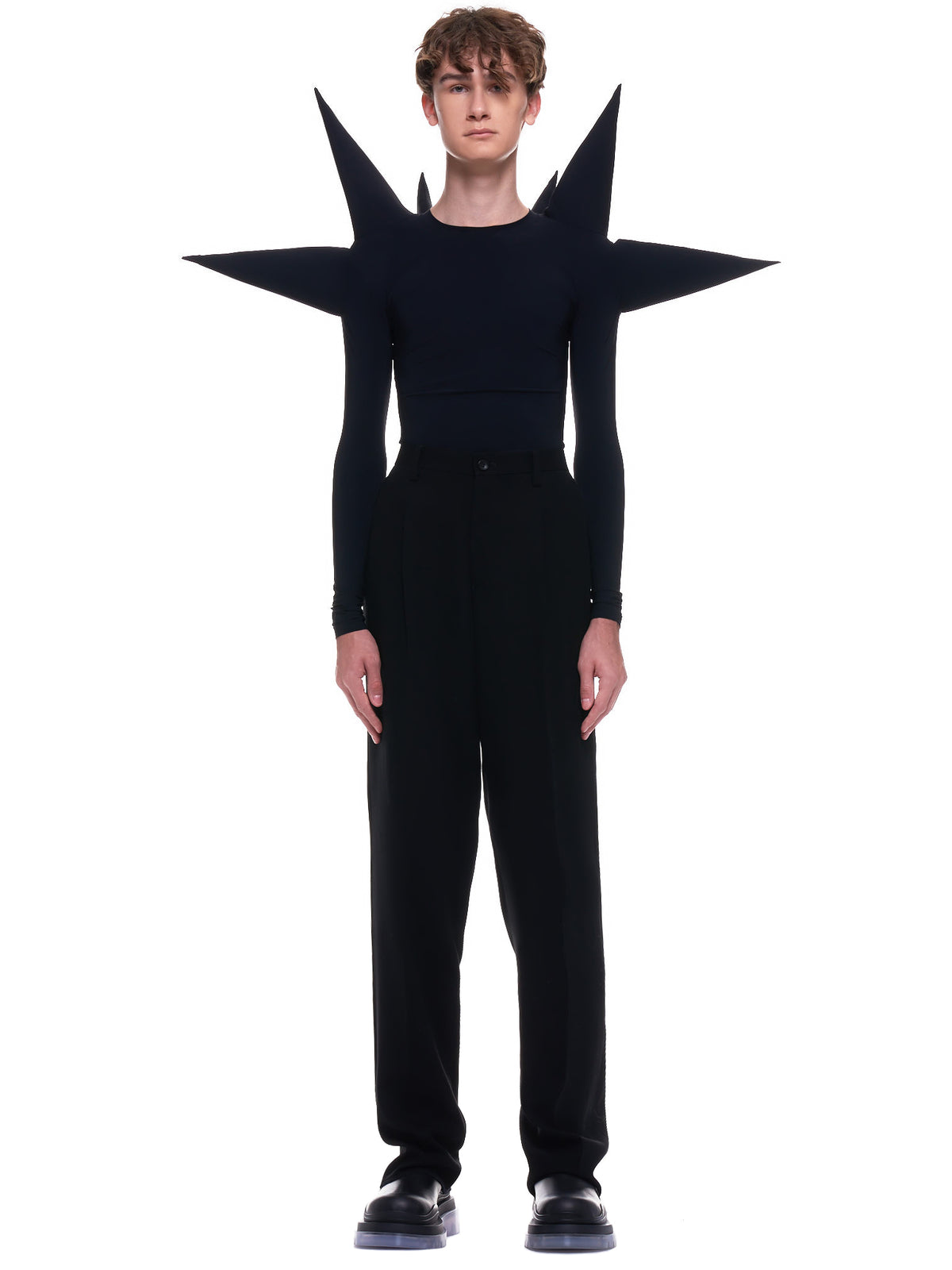 Spiky Power Sweater (8001-SPIKY-POWER-BLACK)
