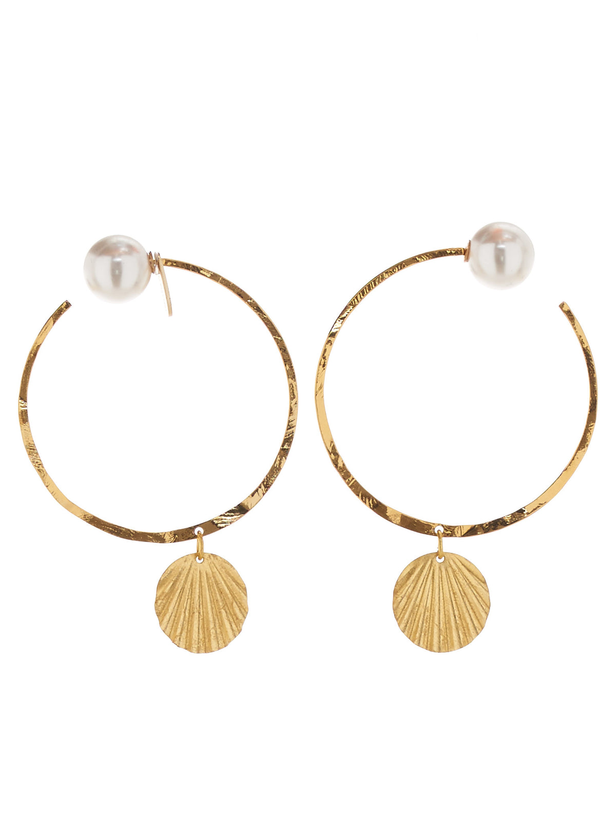 Coquina Earrings (826-G026-077-GOLD)