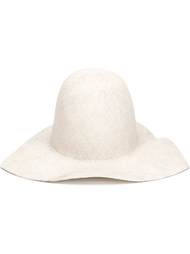 Cream Straw Hat (LISA STRAW PERLA) - H. Lorenzo