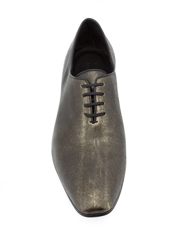 Lace-Up leather Shoes (163-4200-284-085) - H. Lorenzo