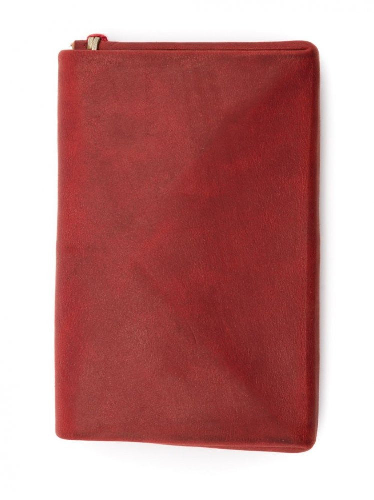 Leather Coin Purse (W5 CUF 1.0 RED) - H. Lorenzo
