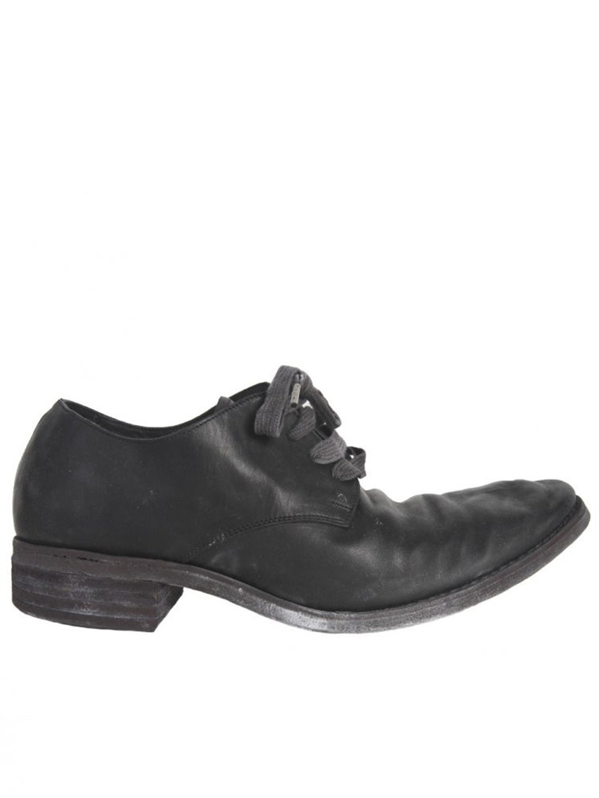 Lace-up Leather Shoe (S16-SS6 LAMA BLACK)