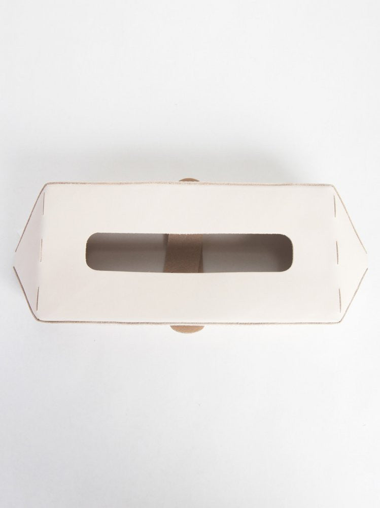 Natural Leather Tissue-Box Cover (AB-RC-TIS NATURAL) - H. Lorenzo