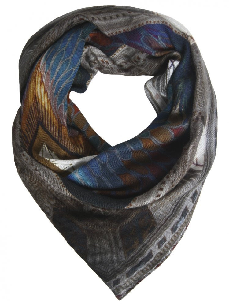 Silk Little Goga Scarf (LITTLE GOGA 47530) - H. Lorenzo