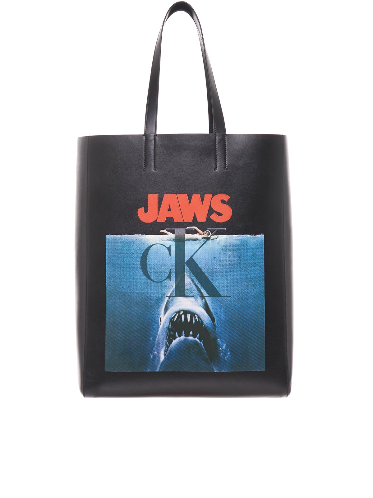 Jaws Leather Tote (92MLBA15-BLACK)