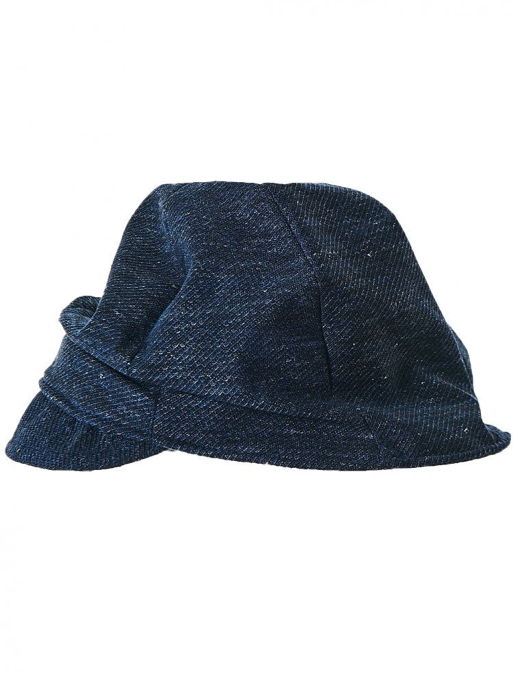 Slouched Hat (TAM01566 NAVY) - H. Lorenzo