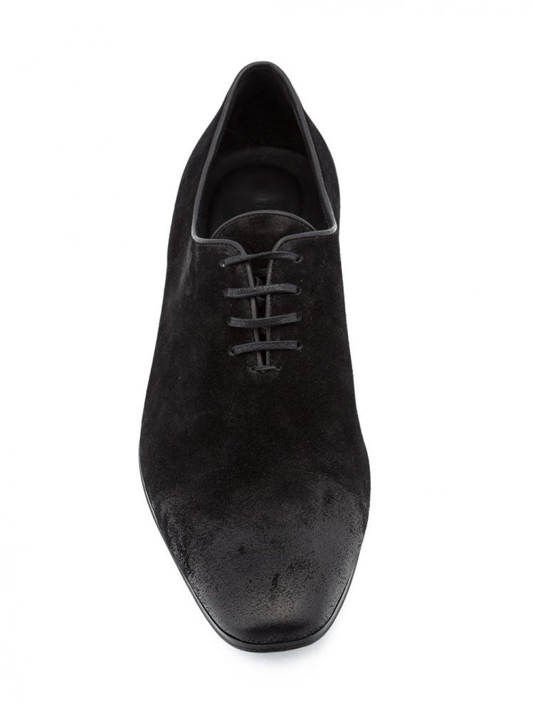 Suede Oxfords (163-4200-294-099) - H. Lorenzo