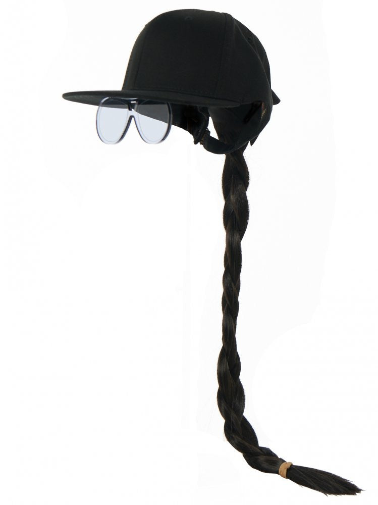 Pony Tail and Sunglass Cap (LOOK 37 FASHIONISTA BLACK) - H. Lorenzo