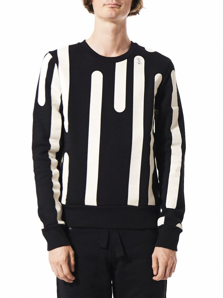 Graphic Pullover (MTP5015 BLACK/CREAM) - H. Lorenzo