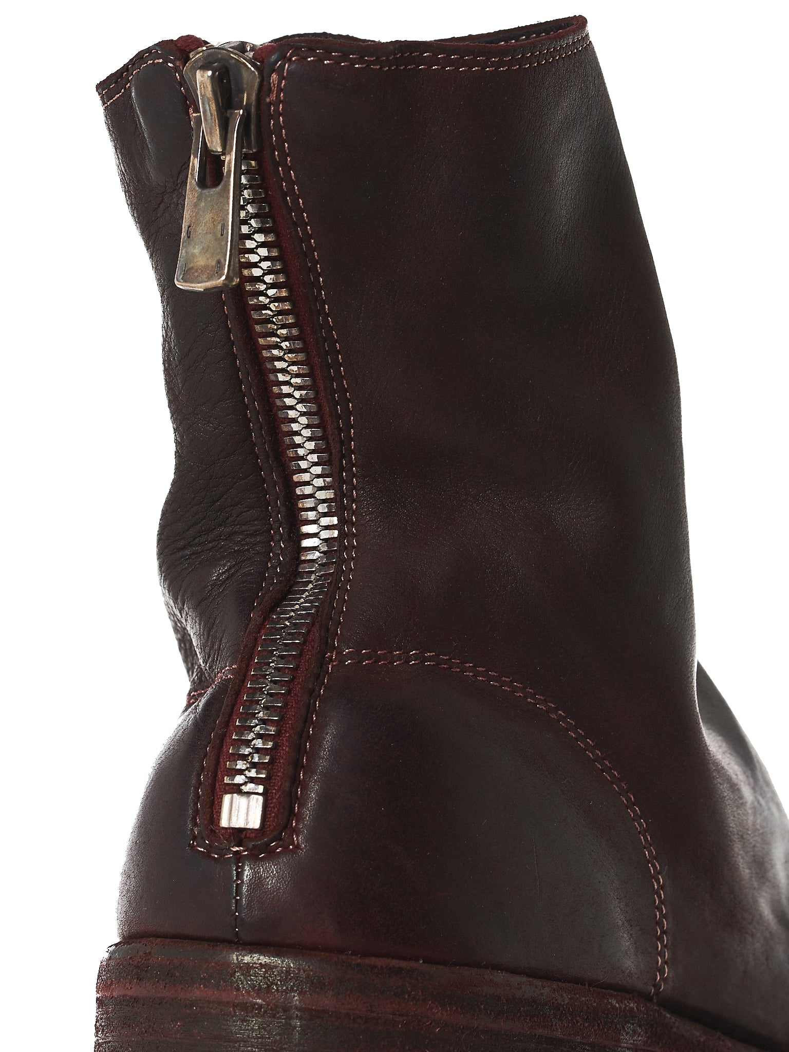 Stacked Zip Boots (986-BABY-CALF-FG-CV23T)