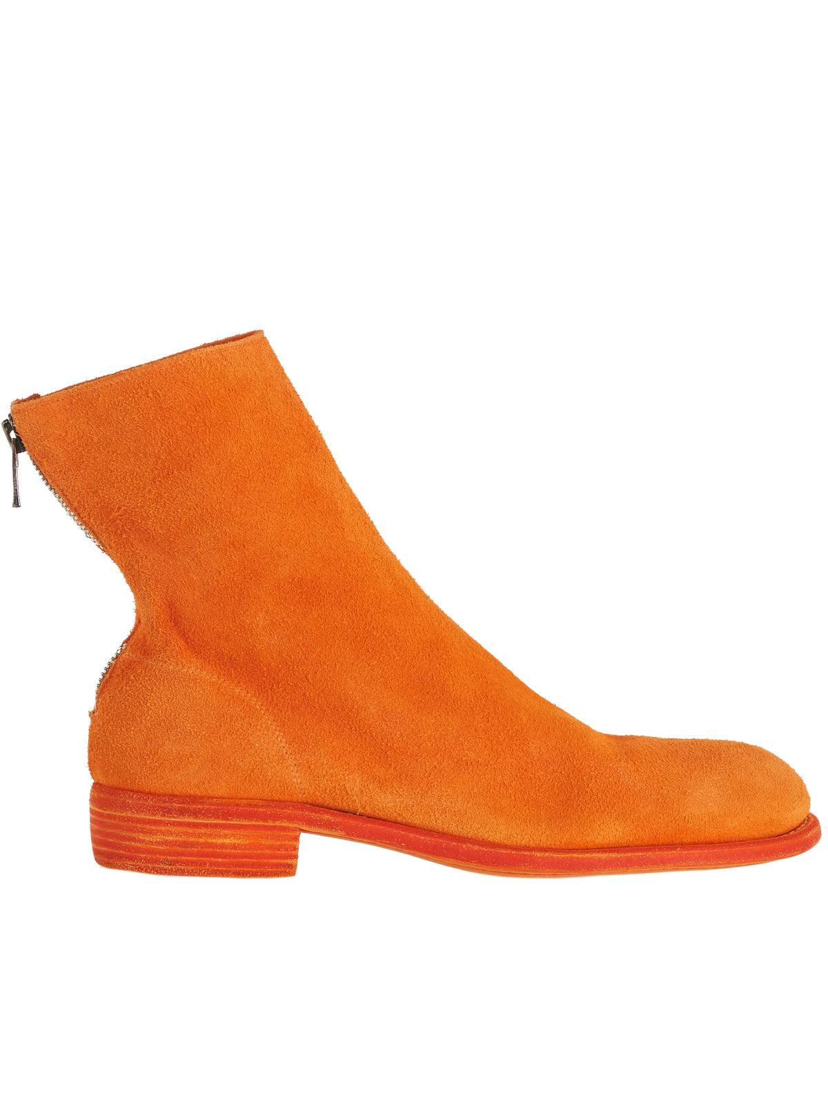 986 Buffalo Leather Boots (986-BUFFALO-NEON-ORANGE)