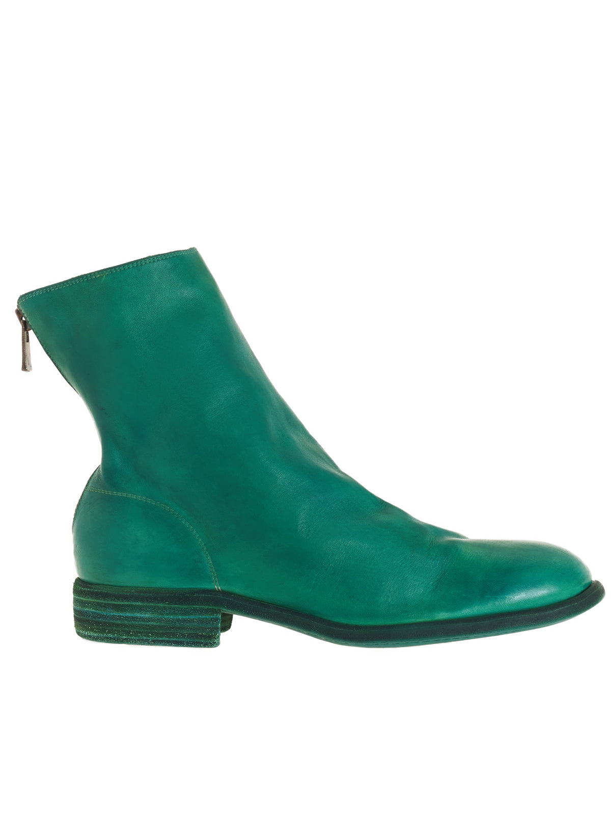 986 Horse Leather Boots (986-HORSE-FG-POISON-GREEN)