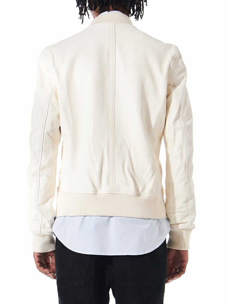 Horse Leather Bomber Jacket (BBM SOFT HORSE F/G CO00T) - H. Lorenzo
