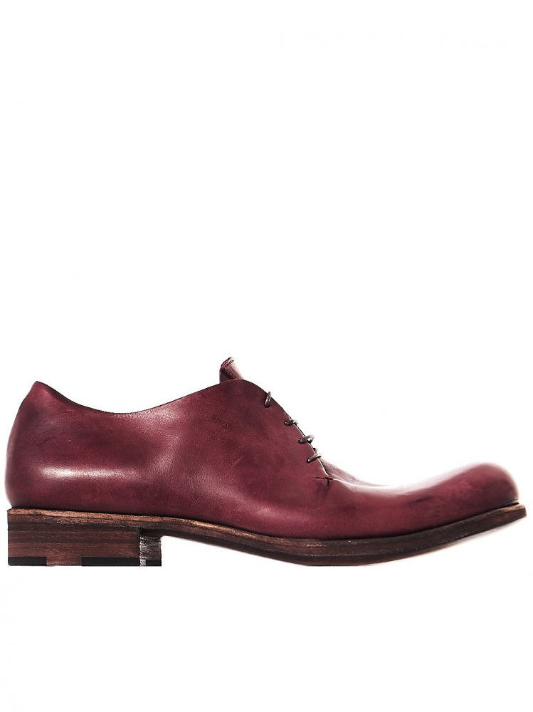 Leather Lace-Up Shoe (S1A1-S VA 1.5 WINE) - H. Lorenzo
