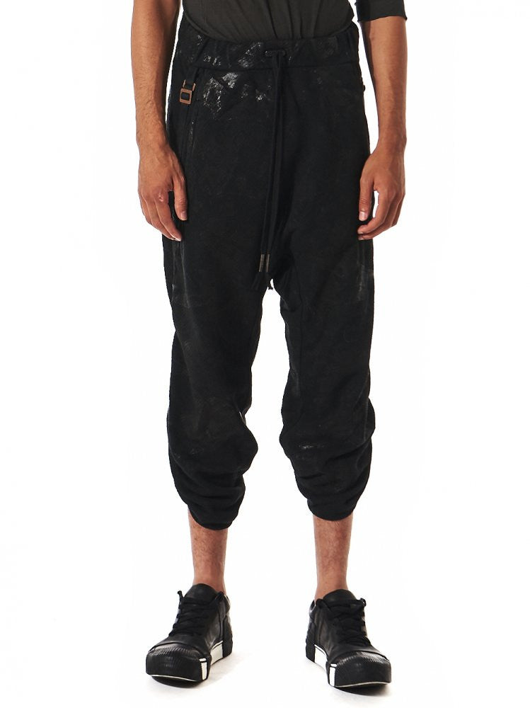 Crushed Wax Industrial Strap Jogger (P9 F0511M C4) - H. Lorenzo
