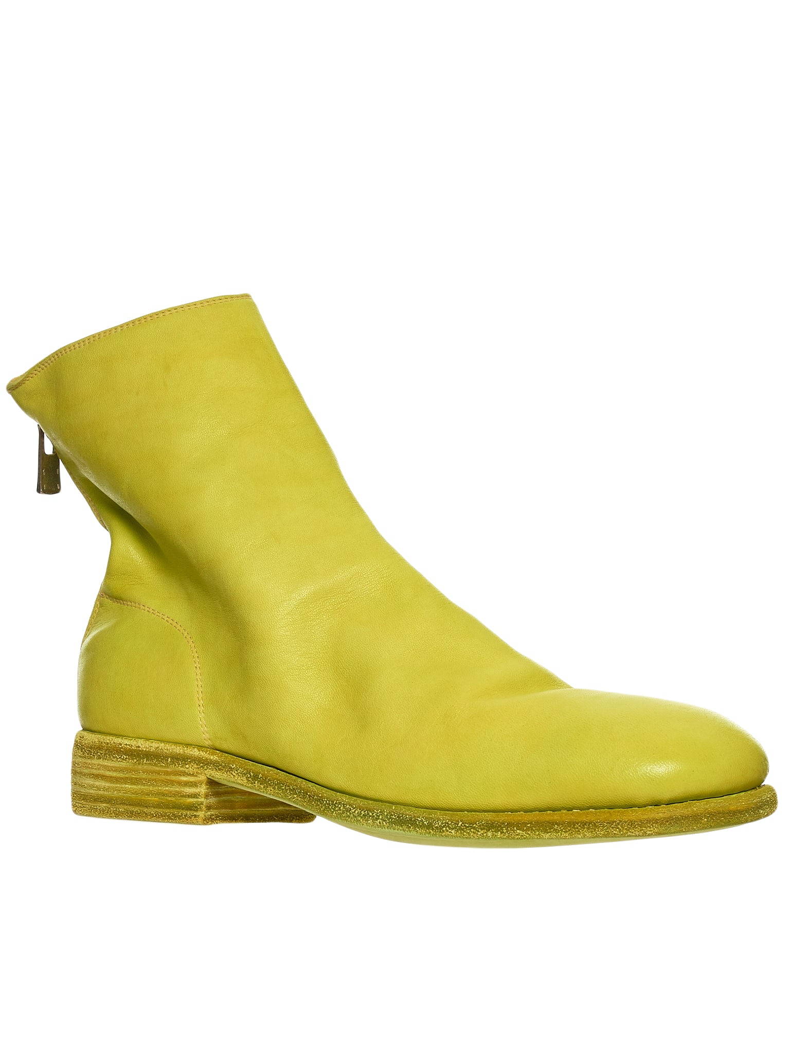 Guidi 986 Yellow Boot - Hlorenzo Side