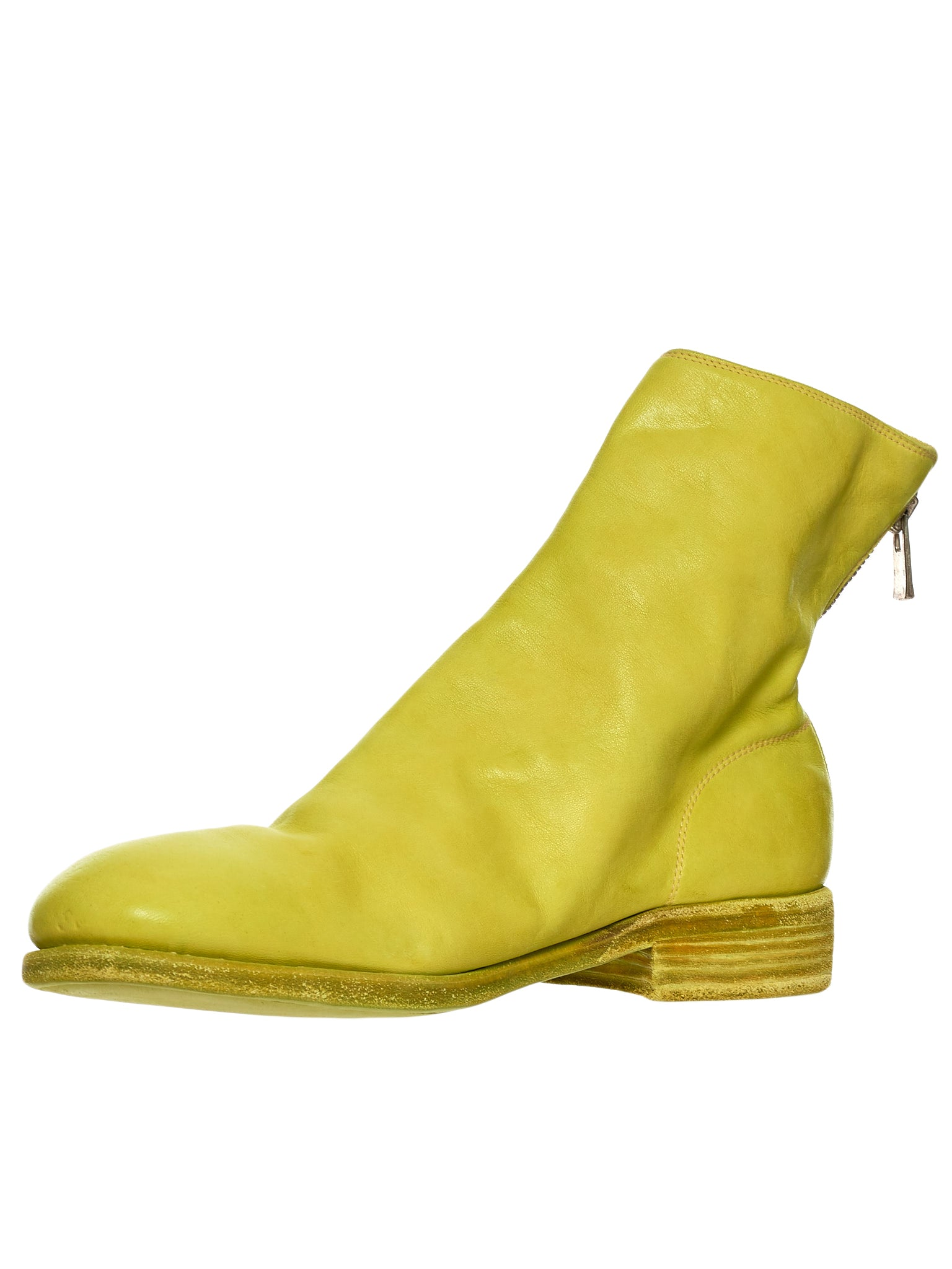 Guidi 986 Yellow Boot - Hlorenzo Detail 1
