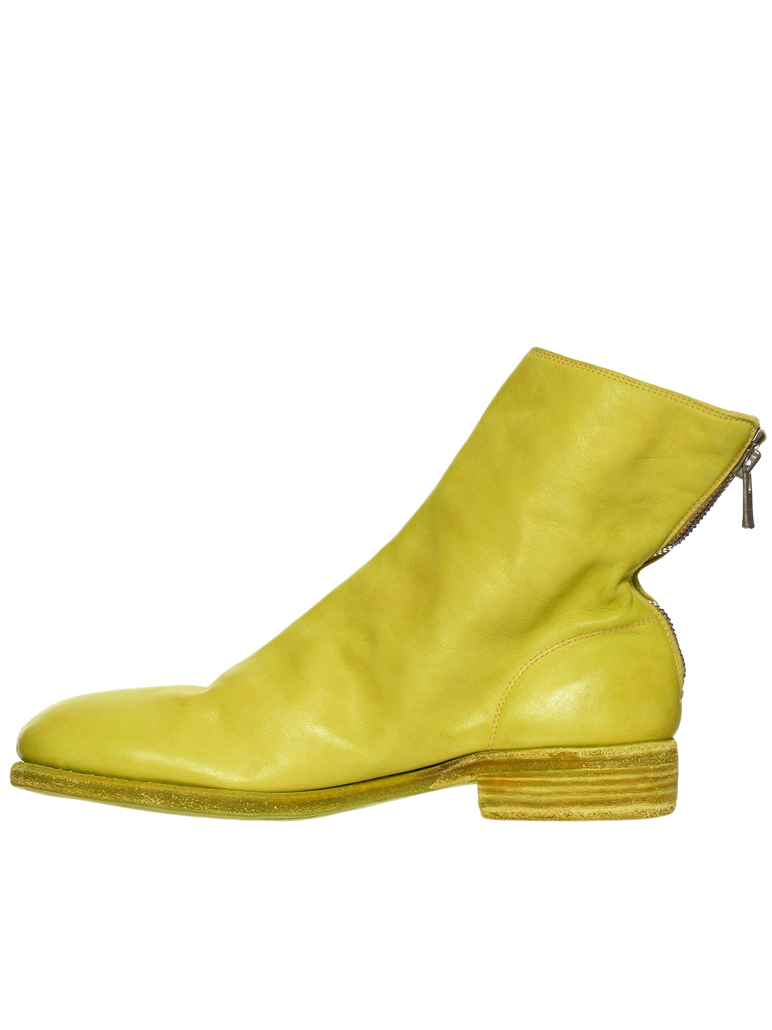 Guidi 986 Yellow Boot - Hlorenzo Back