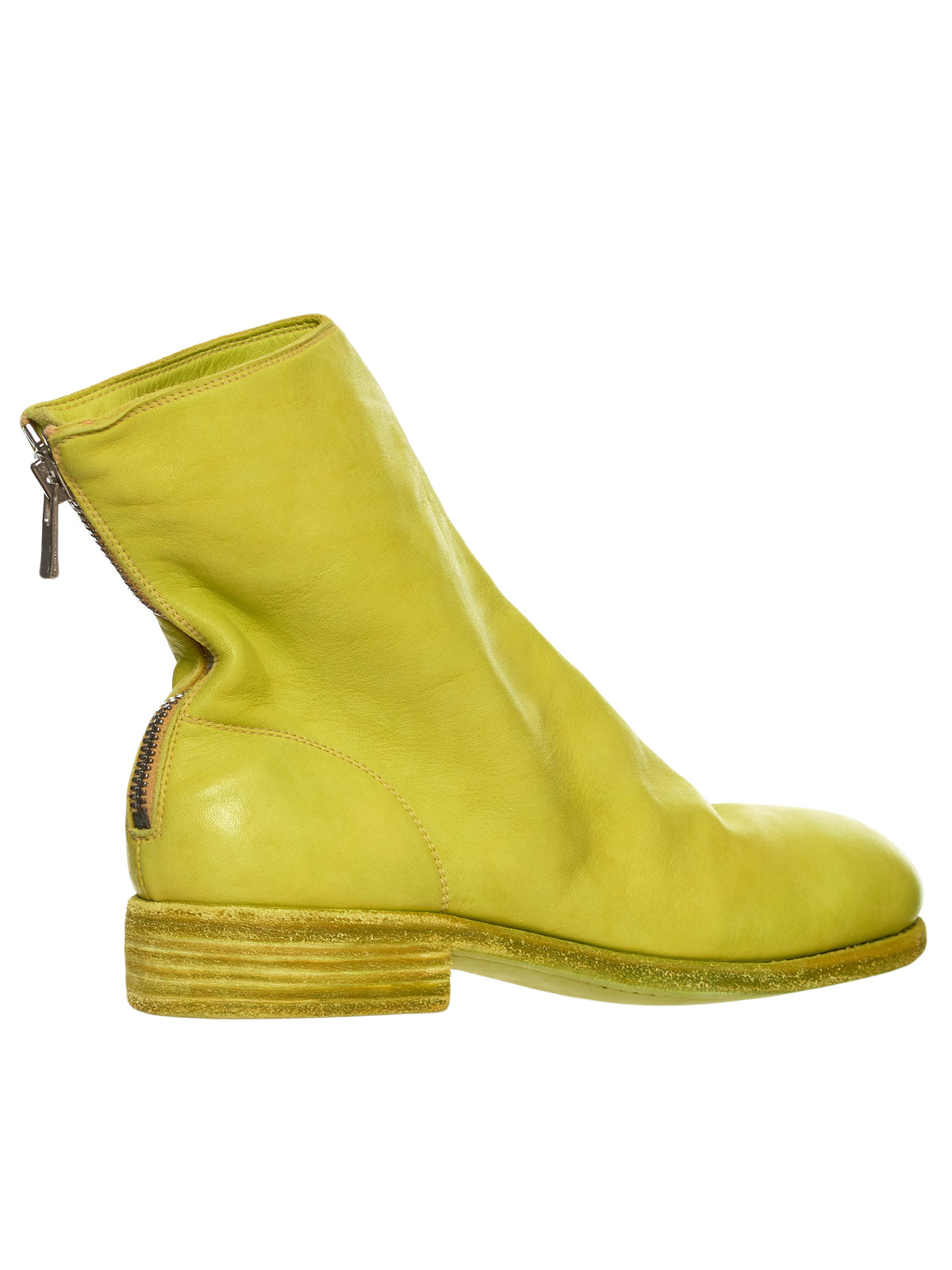 Guidi 986 Yellow Boot - Hlorenzo Detail 2
