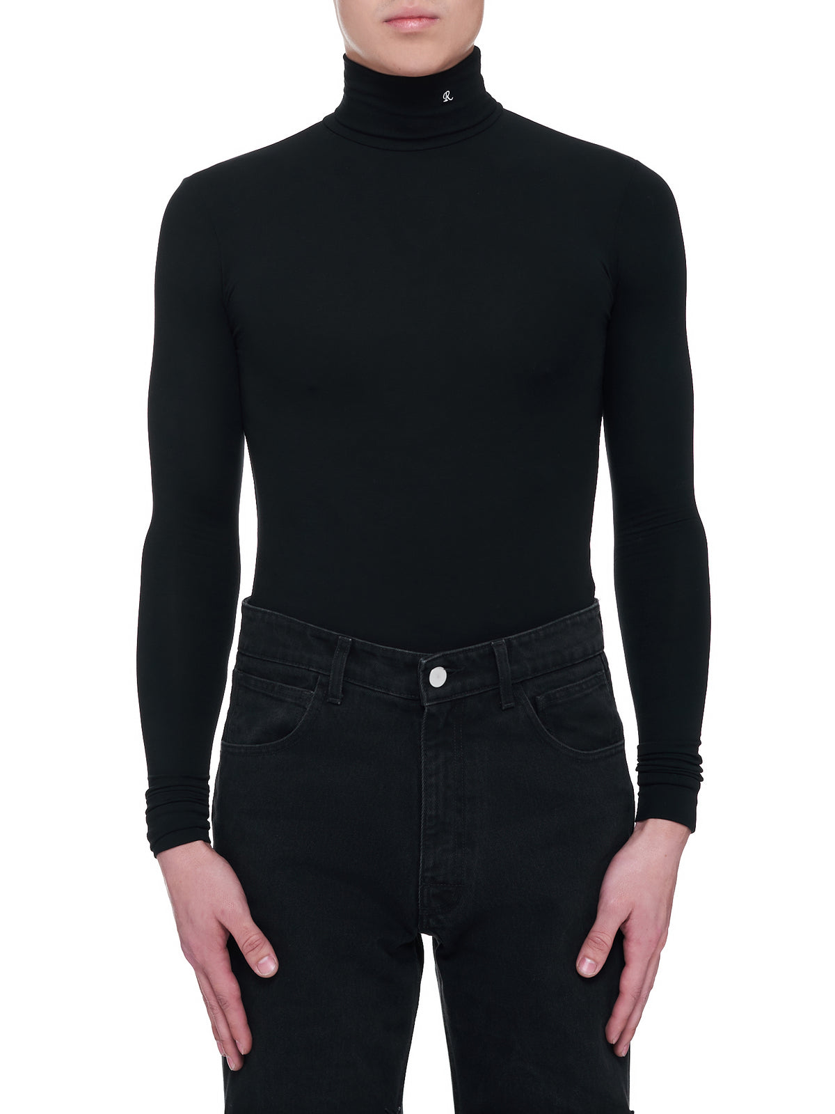 Long Sleeve Turtleneck Sweater (A01-118-19016-BLACK)